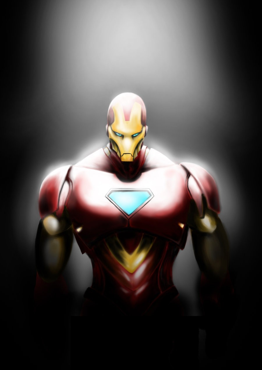 Iron Man artwork HD Wallpaper