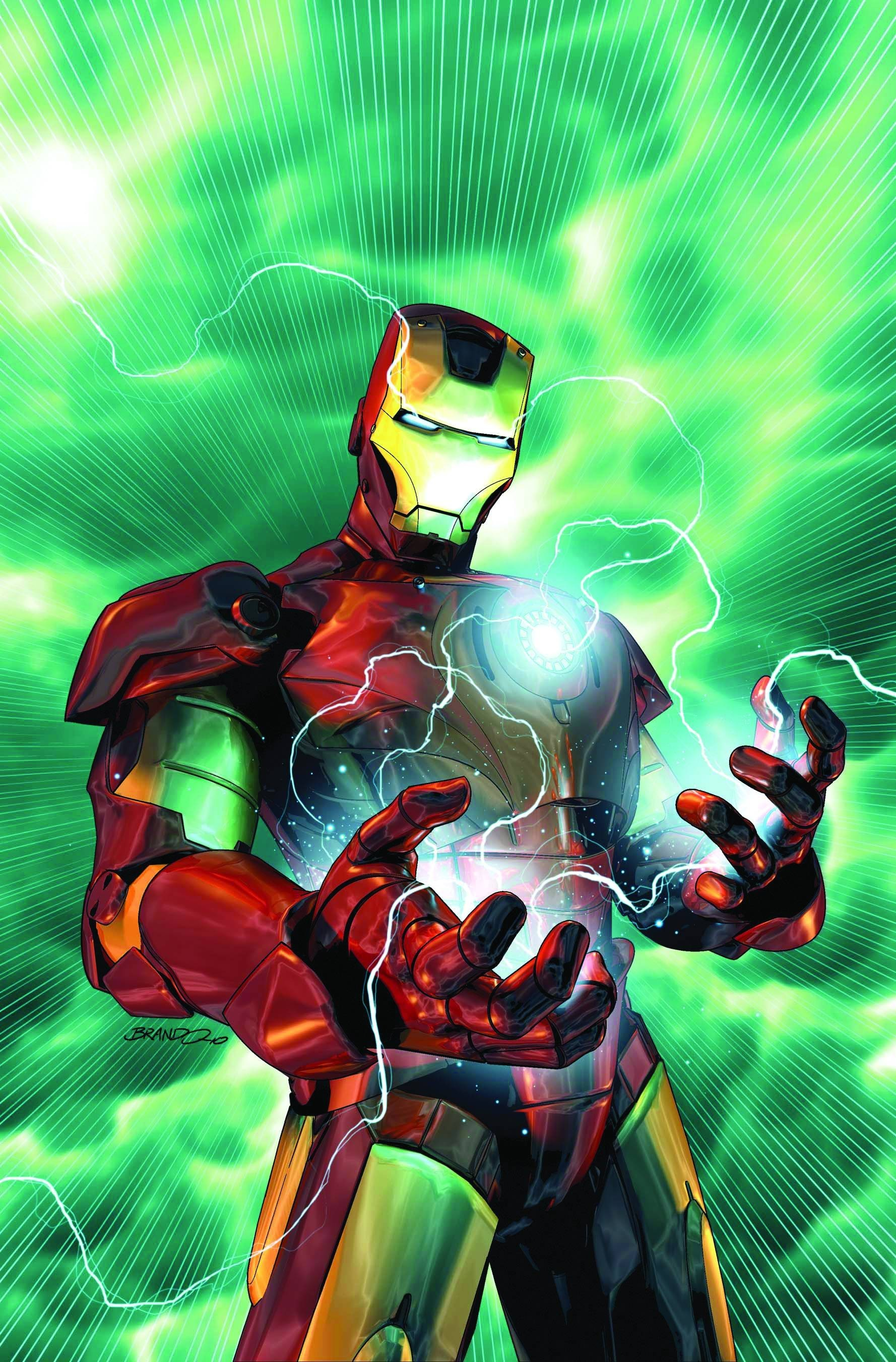 Iron Man comics superheroes HD Wallpaper
