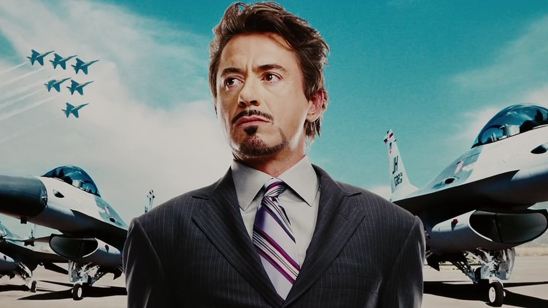 iron man Robert Downey HD Wallpaper