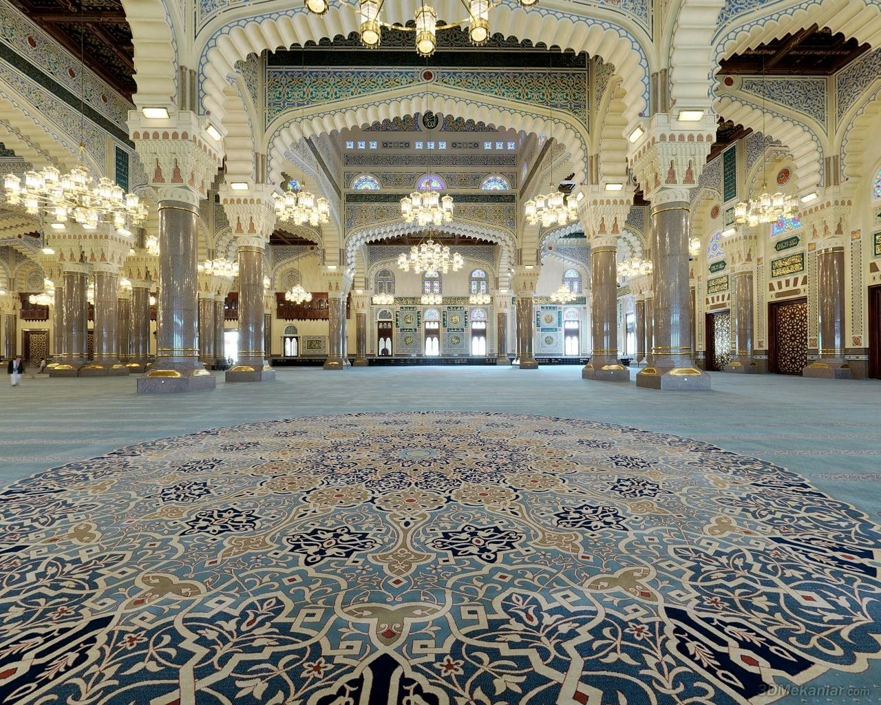 Islam mosques HD Wallpaper