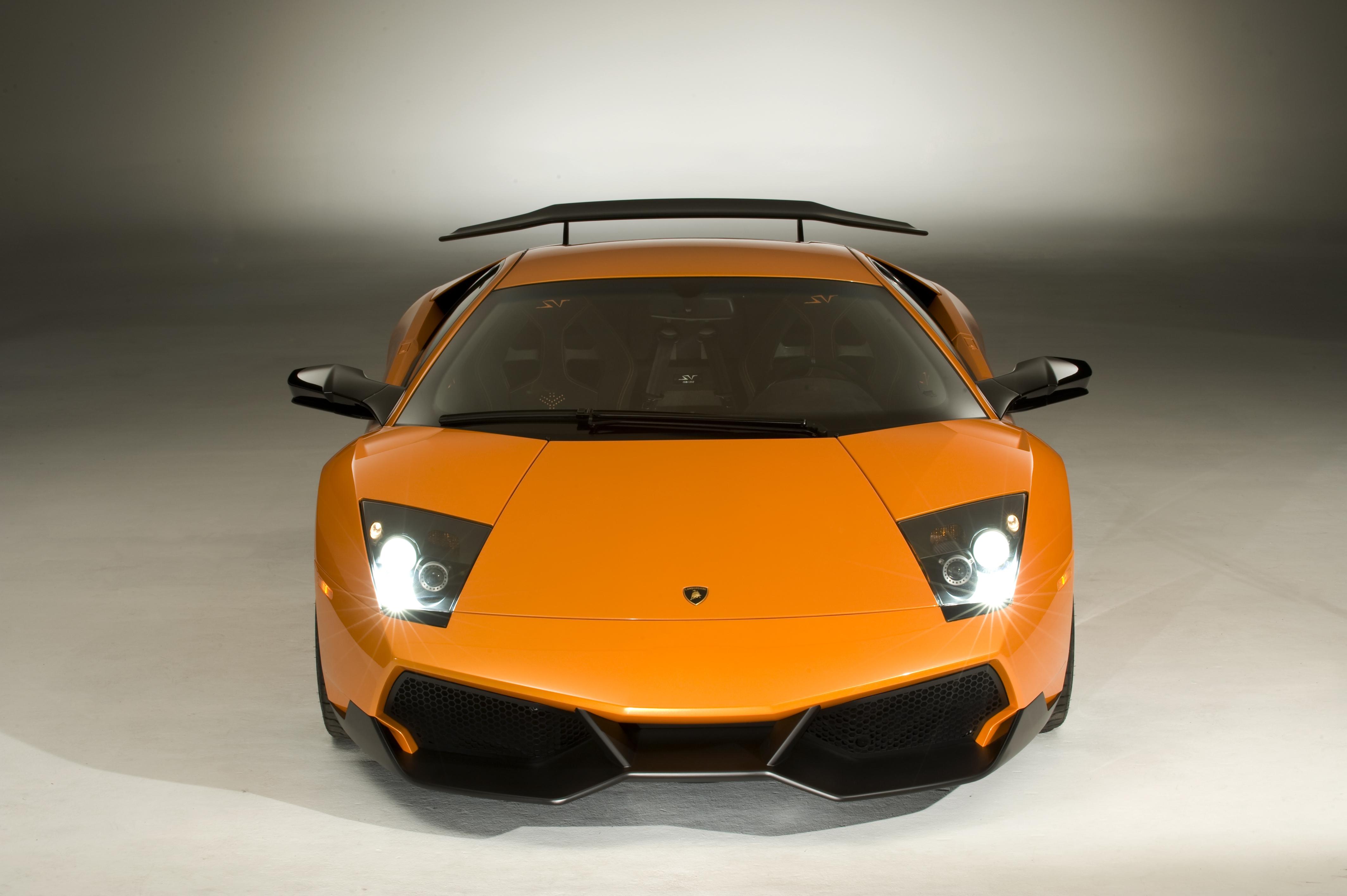 italian cars cars orange HD Wallpaper