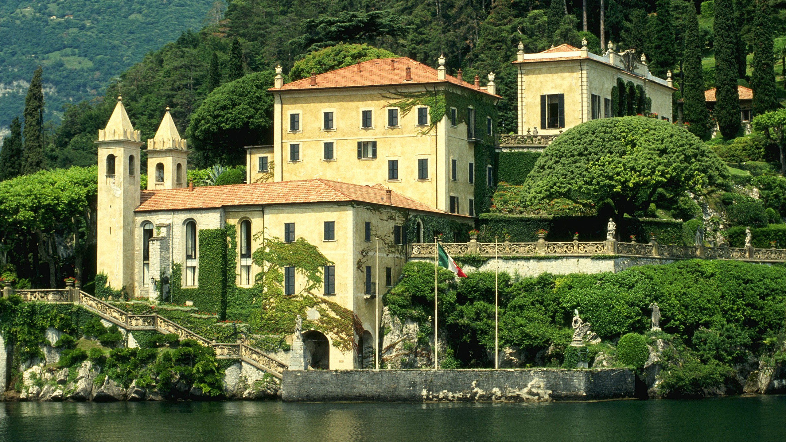 Italy architecture houses Villas HD Wallpaper
