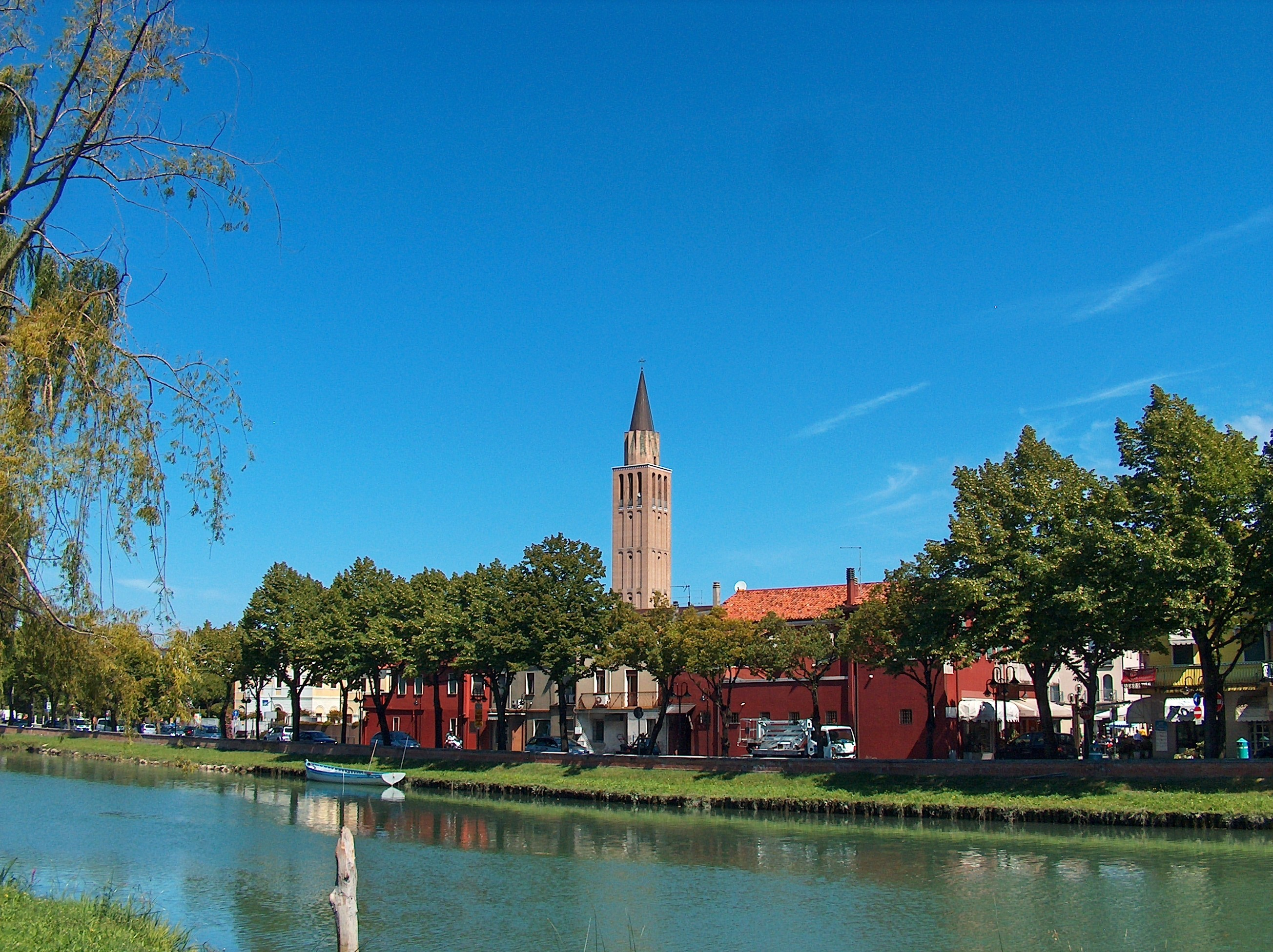 Italy rivers jesolo HD Wallpaper