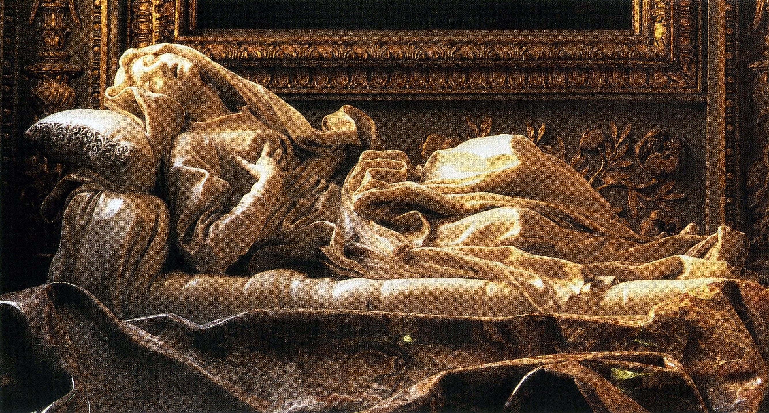 Italy statues chapel Bernini