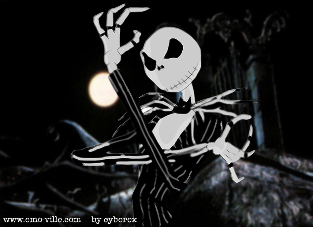 Jack Skellington The Nightmare HD Wallpaper