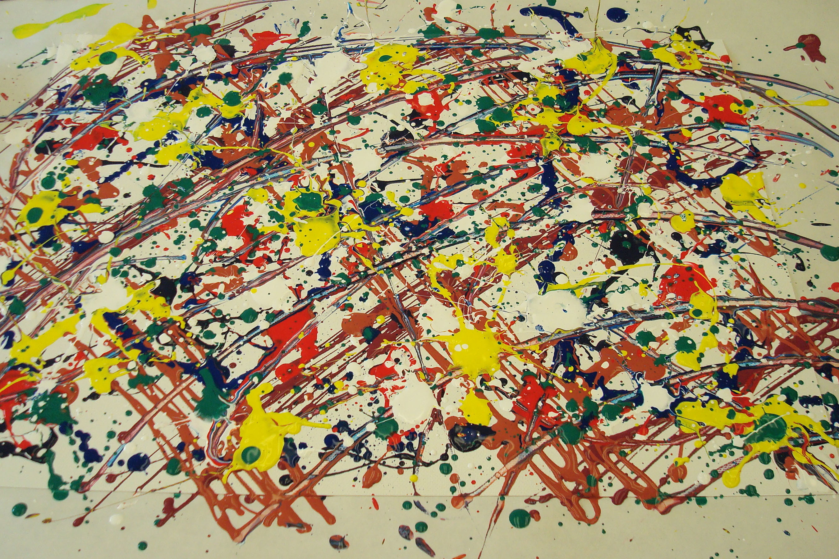 Jackson pollock HD Wallpaper