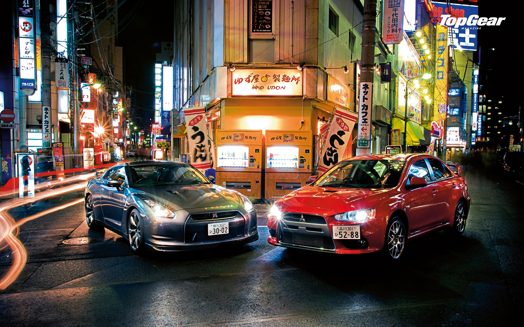 Japan top Gear Lancer HD Wallpaper