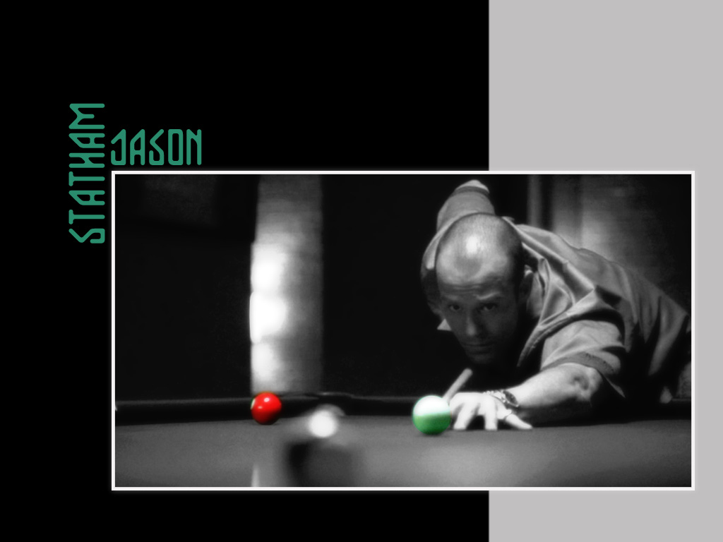 Jason Statham billiards Tables HD Wallpaper