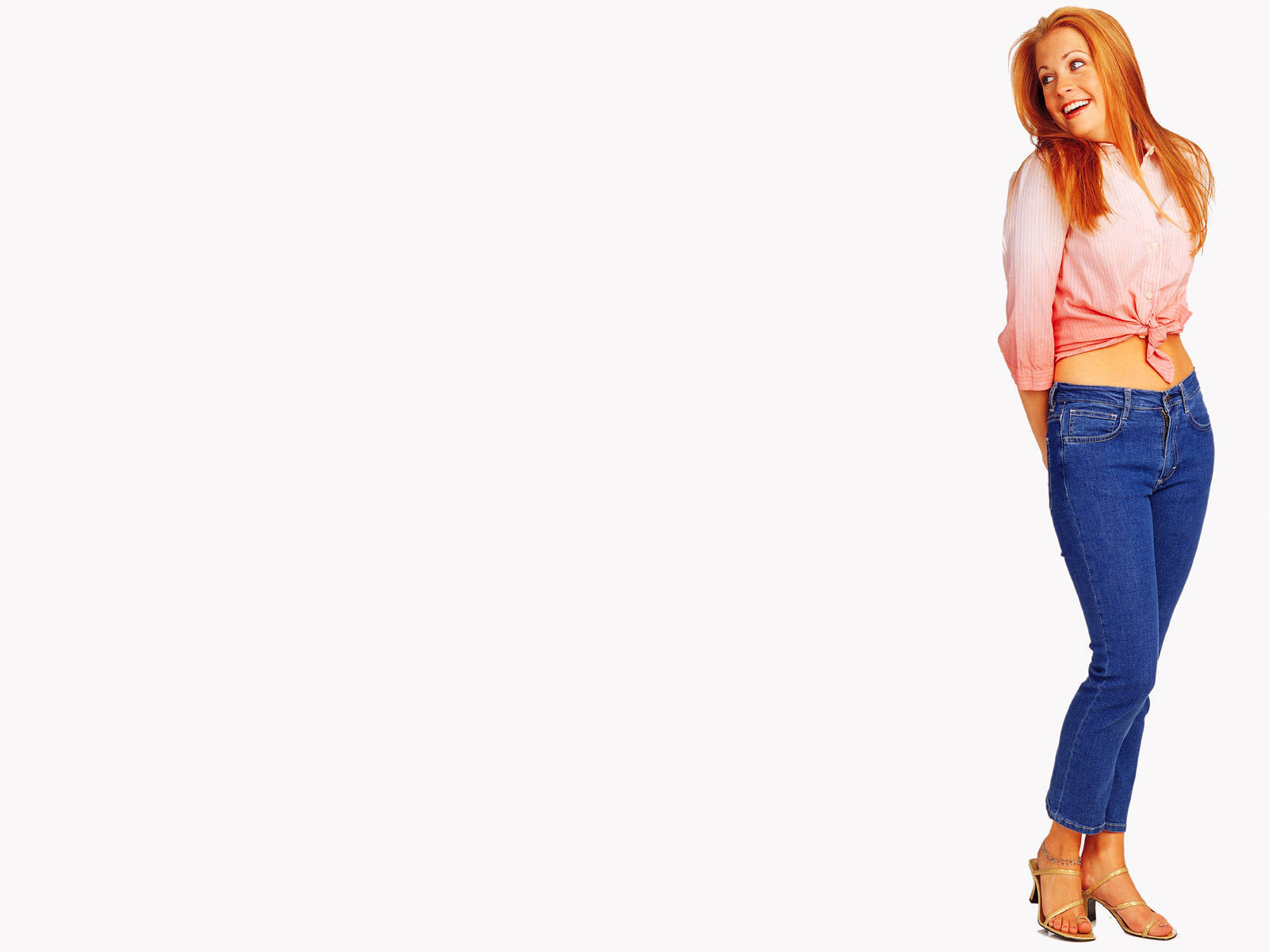 jeans Melissa joan hart HD Wallpaper