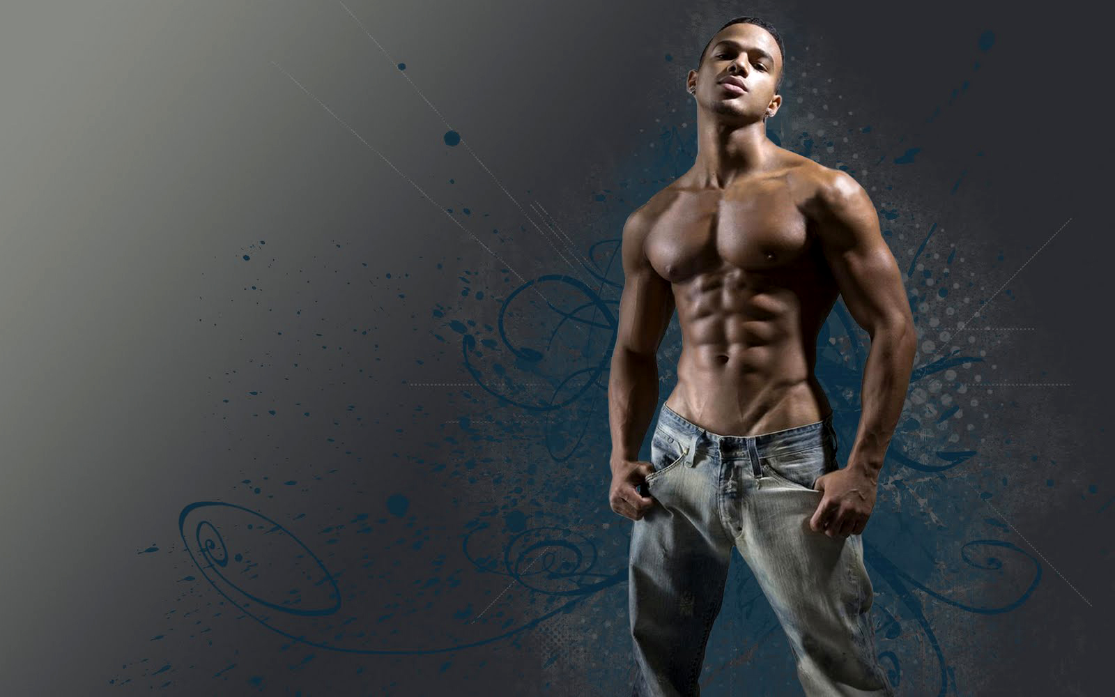jeans Men male models HD Wallpaper