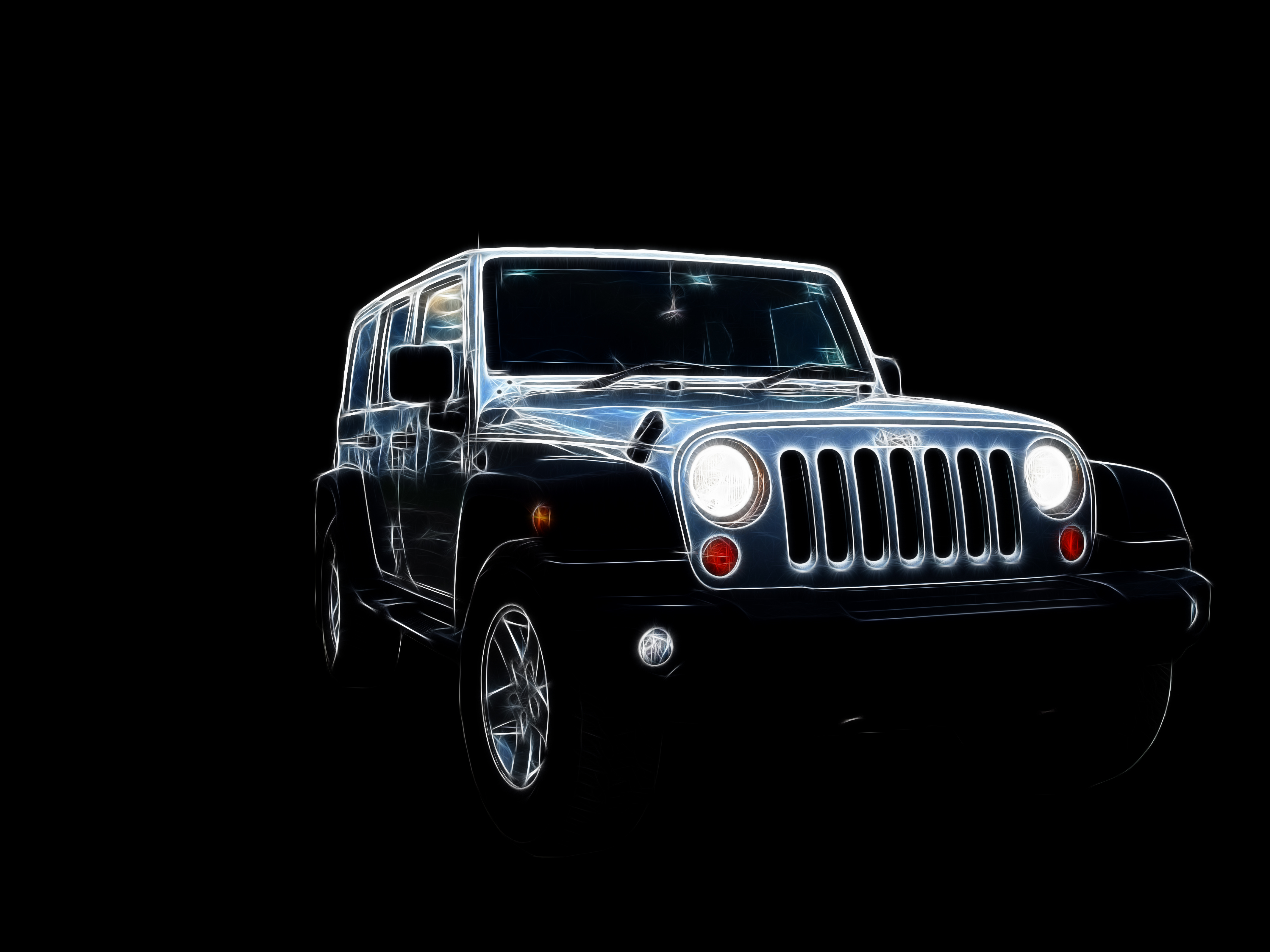 jeep Music and Dance HD Wallpaper