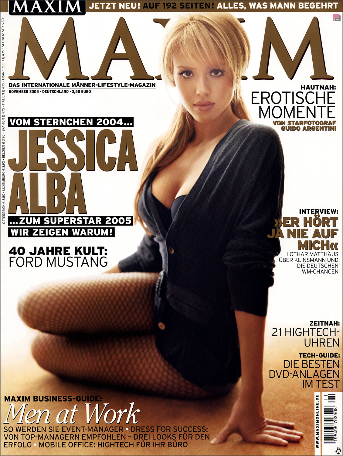 Jessica alba Maxim Magazine HD Wallpaper