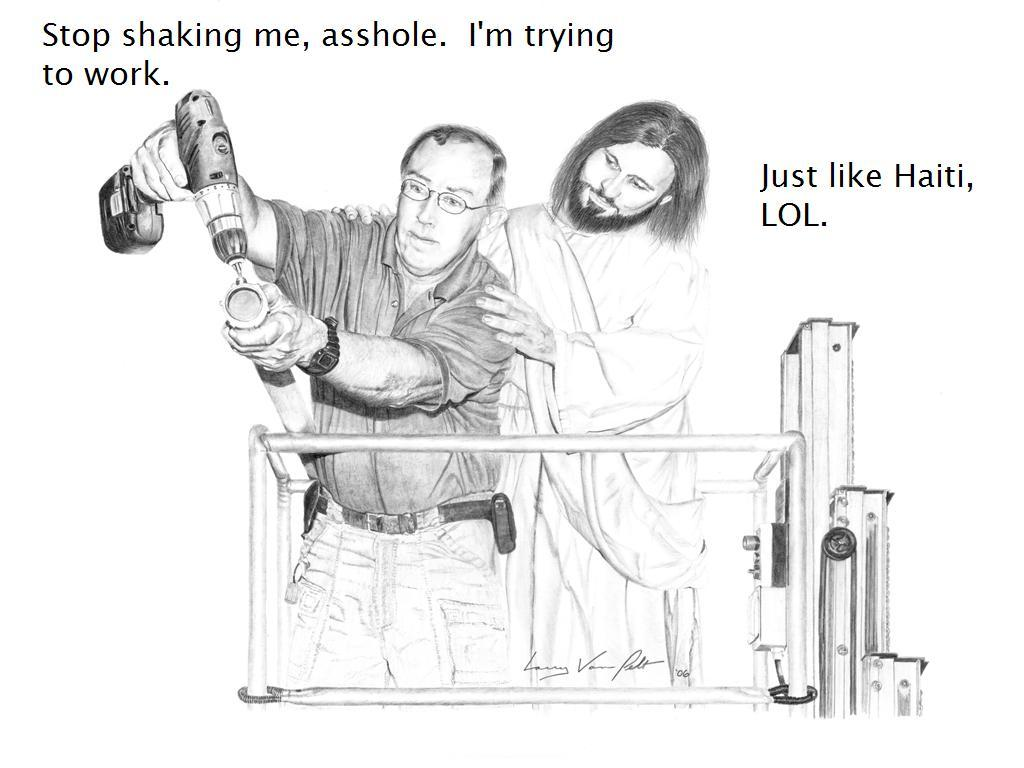 Asshole jesus christ