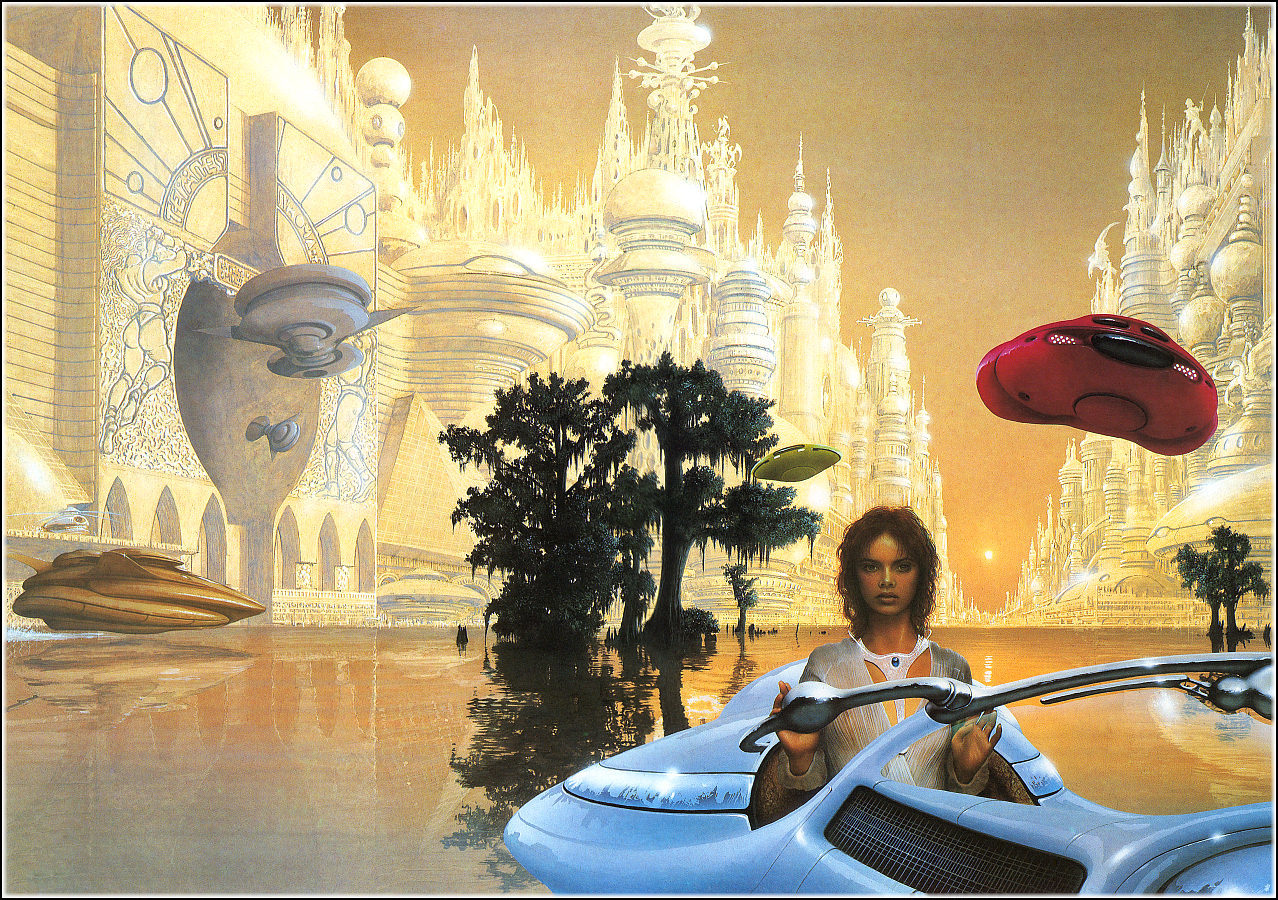 jim Burns The majipoor HD Wallpaper