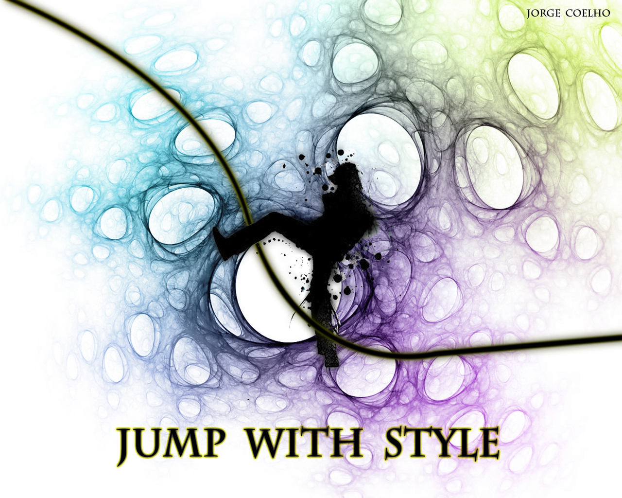 jump Style dancing Music HD Wallpaper