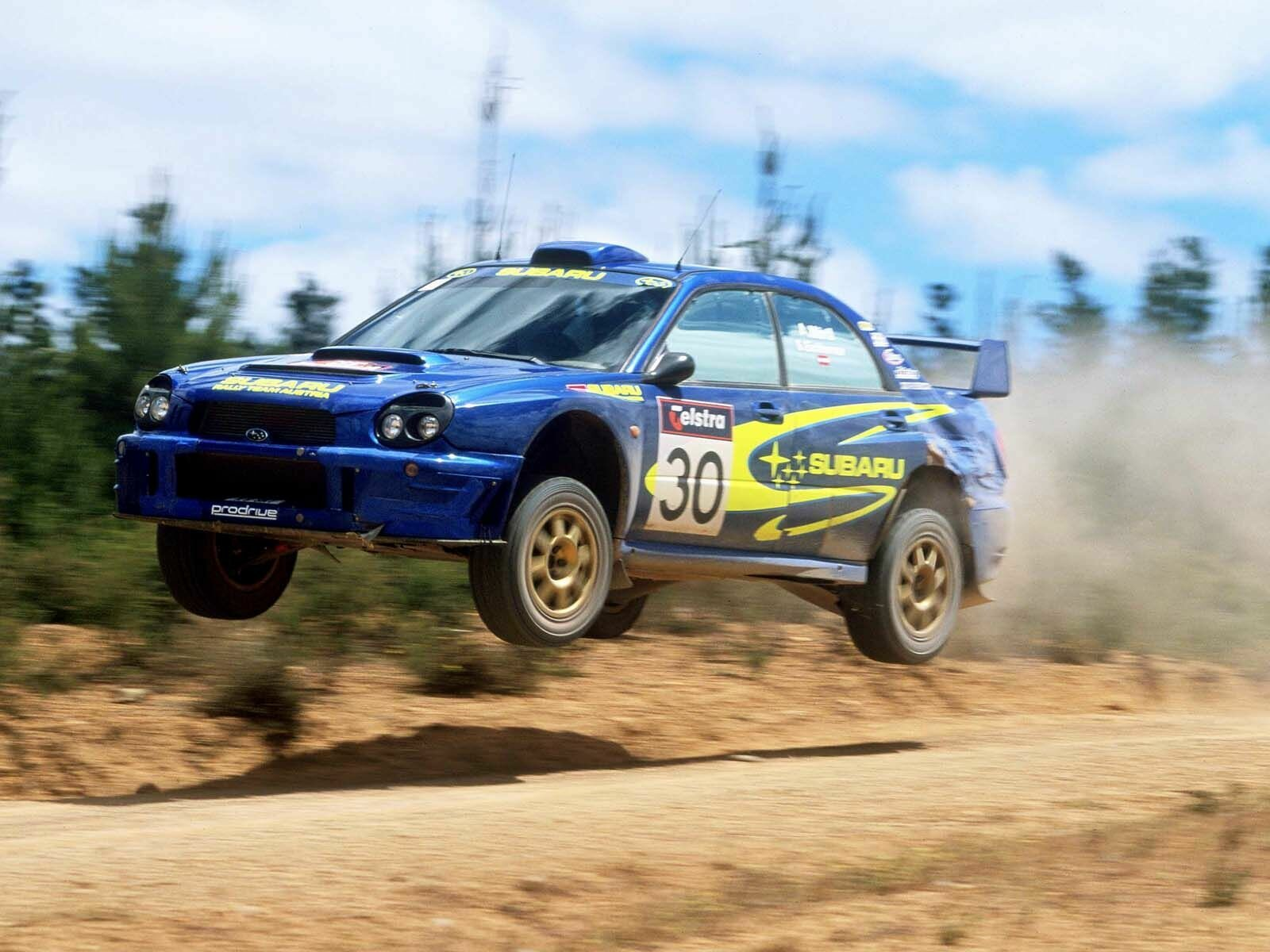 jumping rally Subaru subaru HD Wallpaper