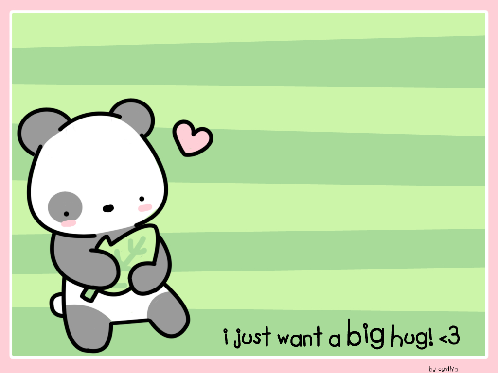 just want big hug HD Wallpaper