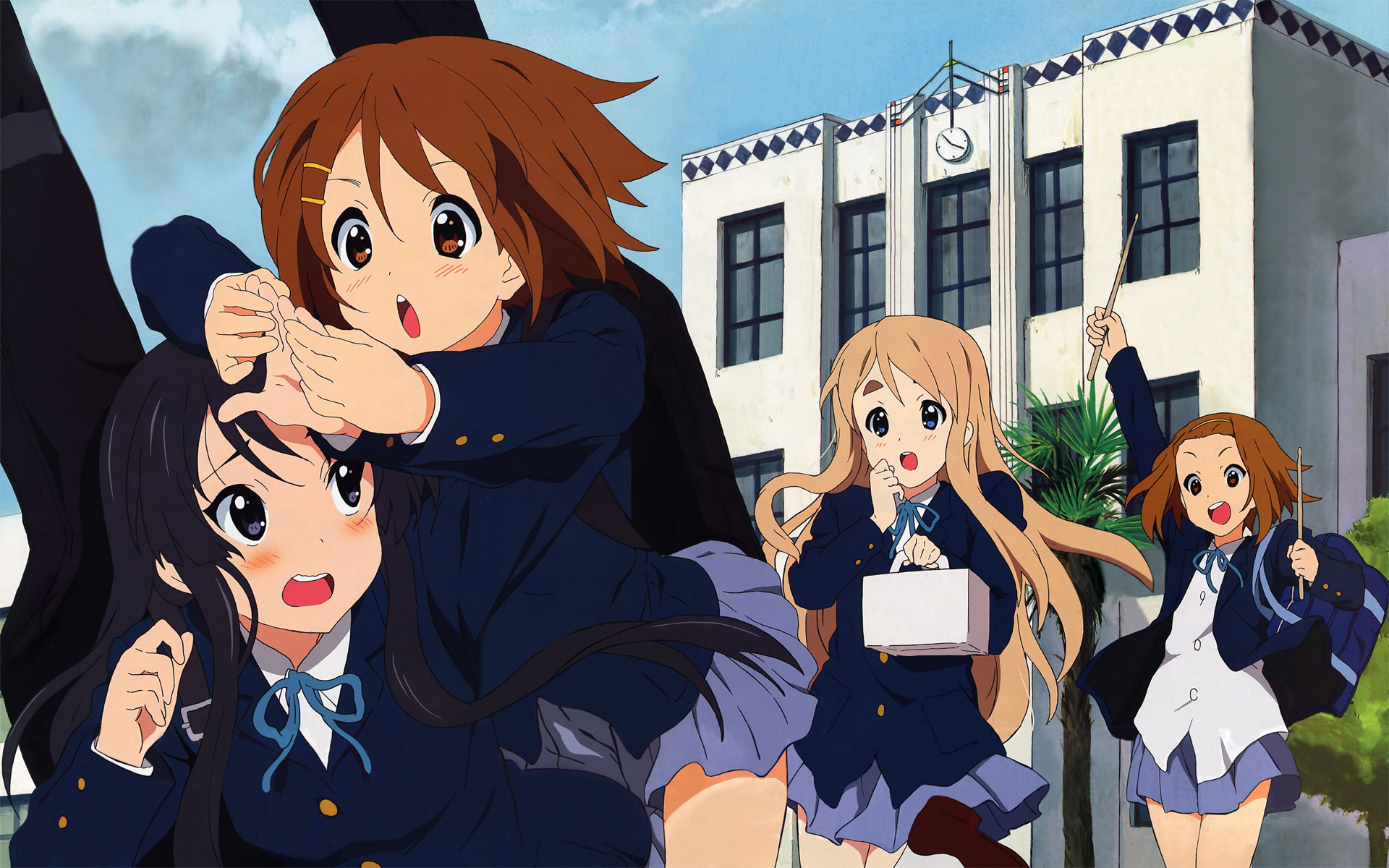k - on school HD Wallpaper