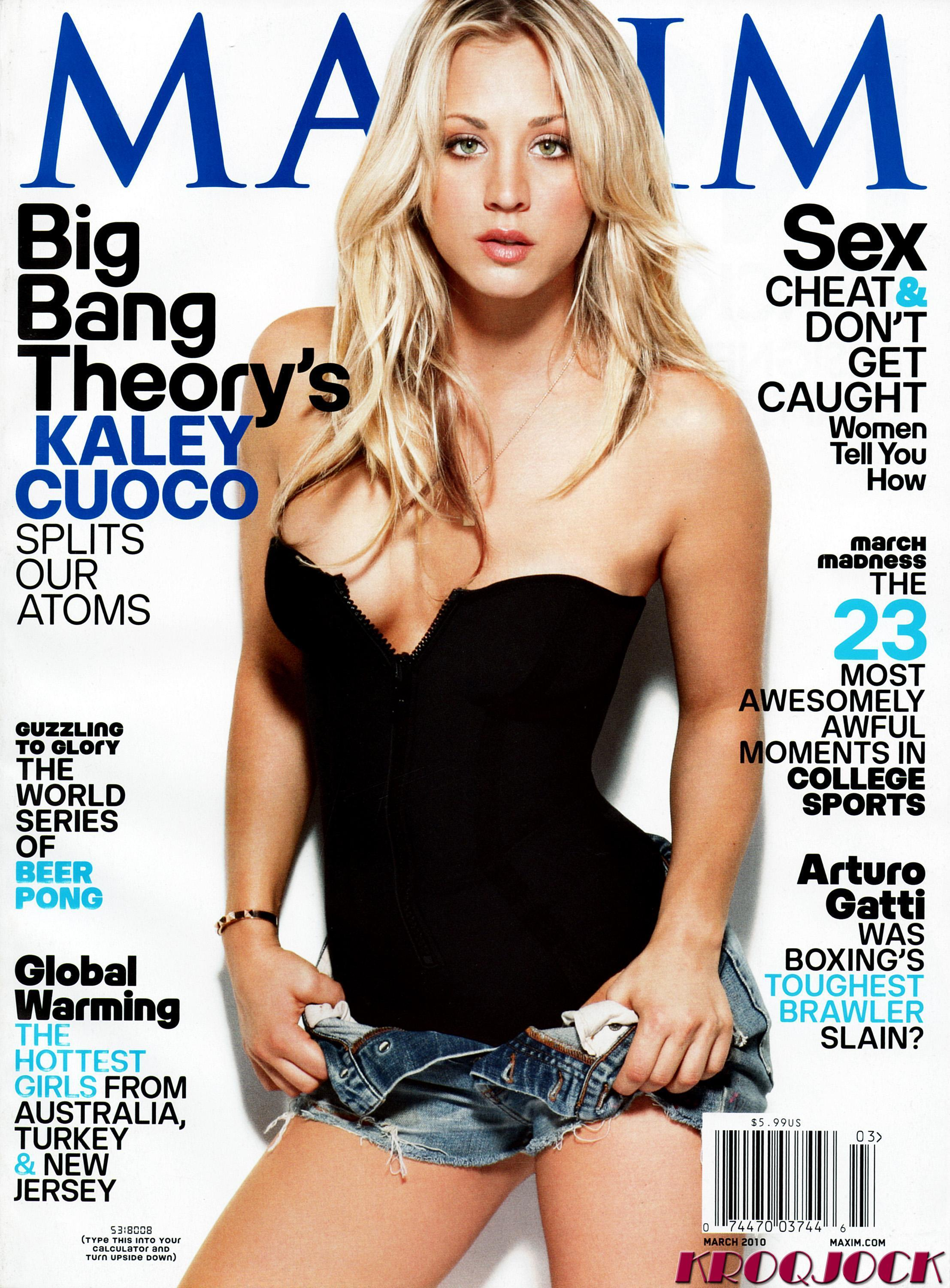 kaley cuoco Maxim magazine HD Wallpaper
