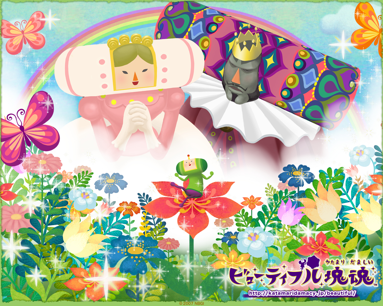 Katamari Manga Anime HD Wallpaper