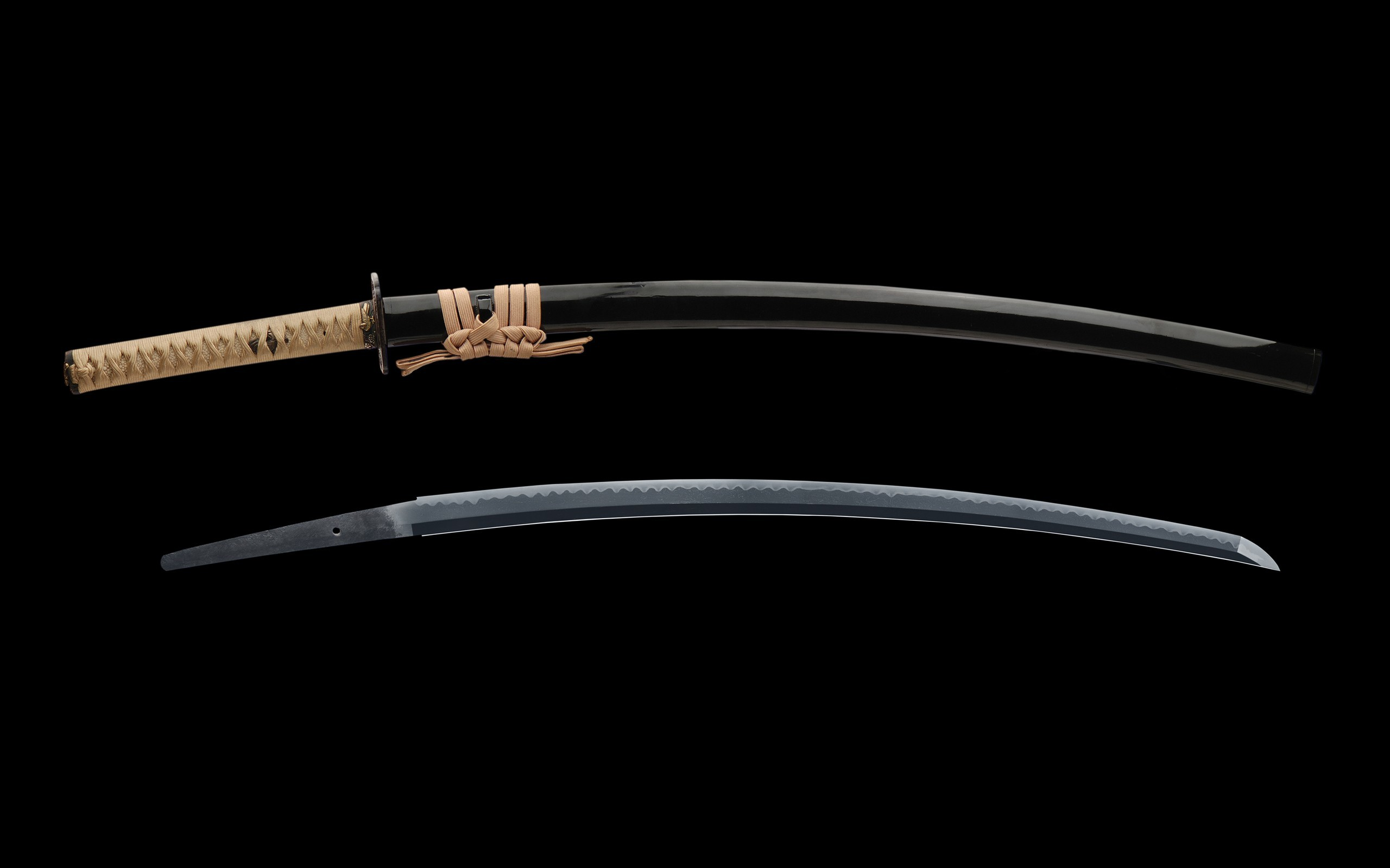 Katana weapons blade Swords HD Wallpaper
