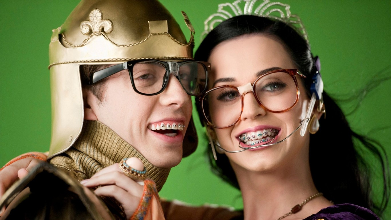 katy perry geek nerd HD Wallpaper