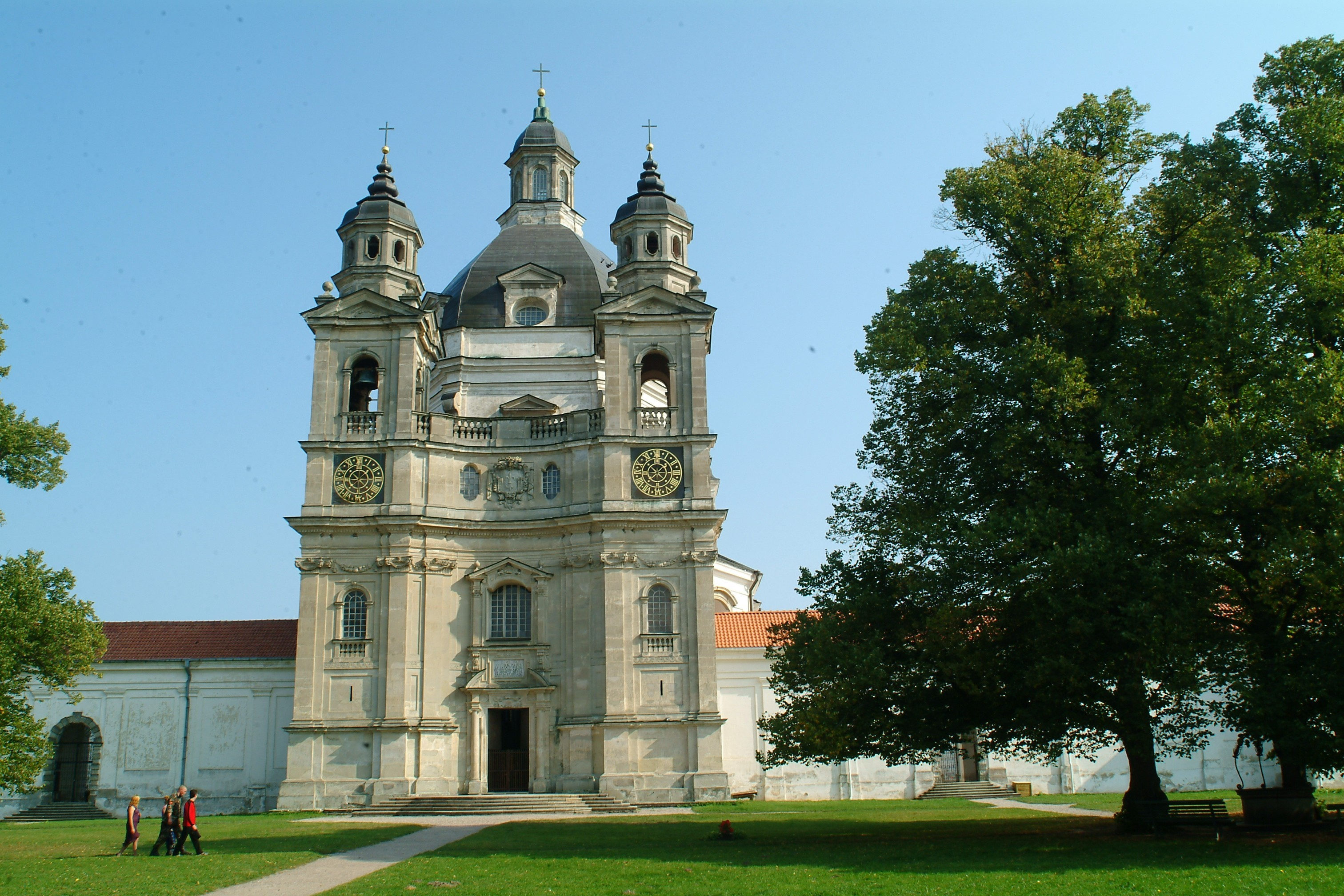 kaunas Pazaislis lithuania Monastery HD Wallpaper