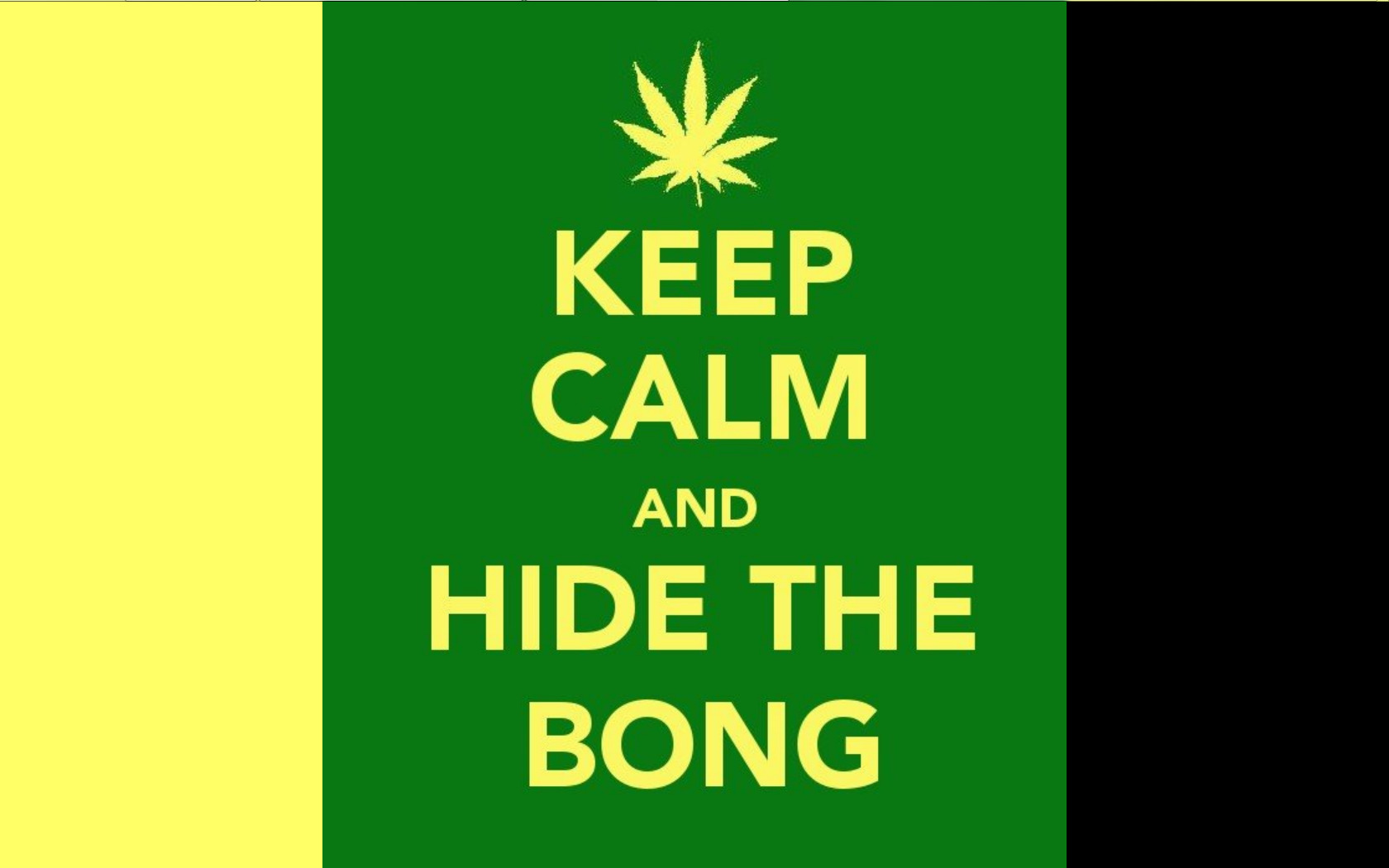 keep calm and bong HD Wallpaper