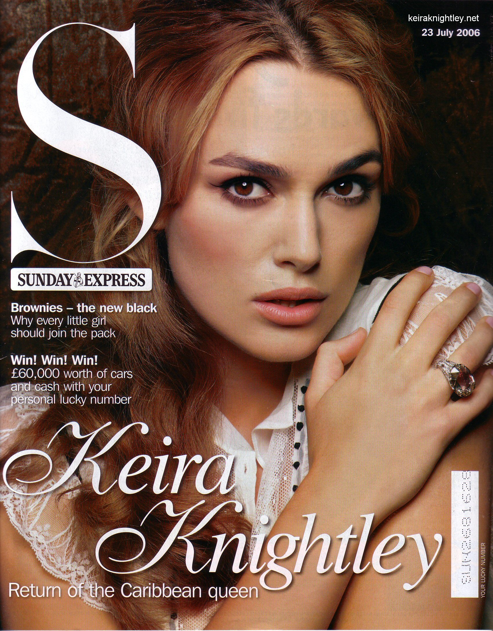 Keira Knightley Magazine covers HD Wallpaper