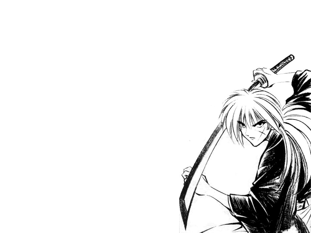 Kenshin Manga Anime HD Wallpaper