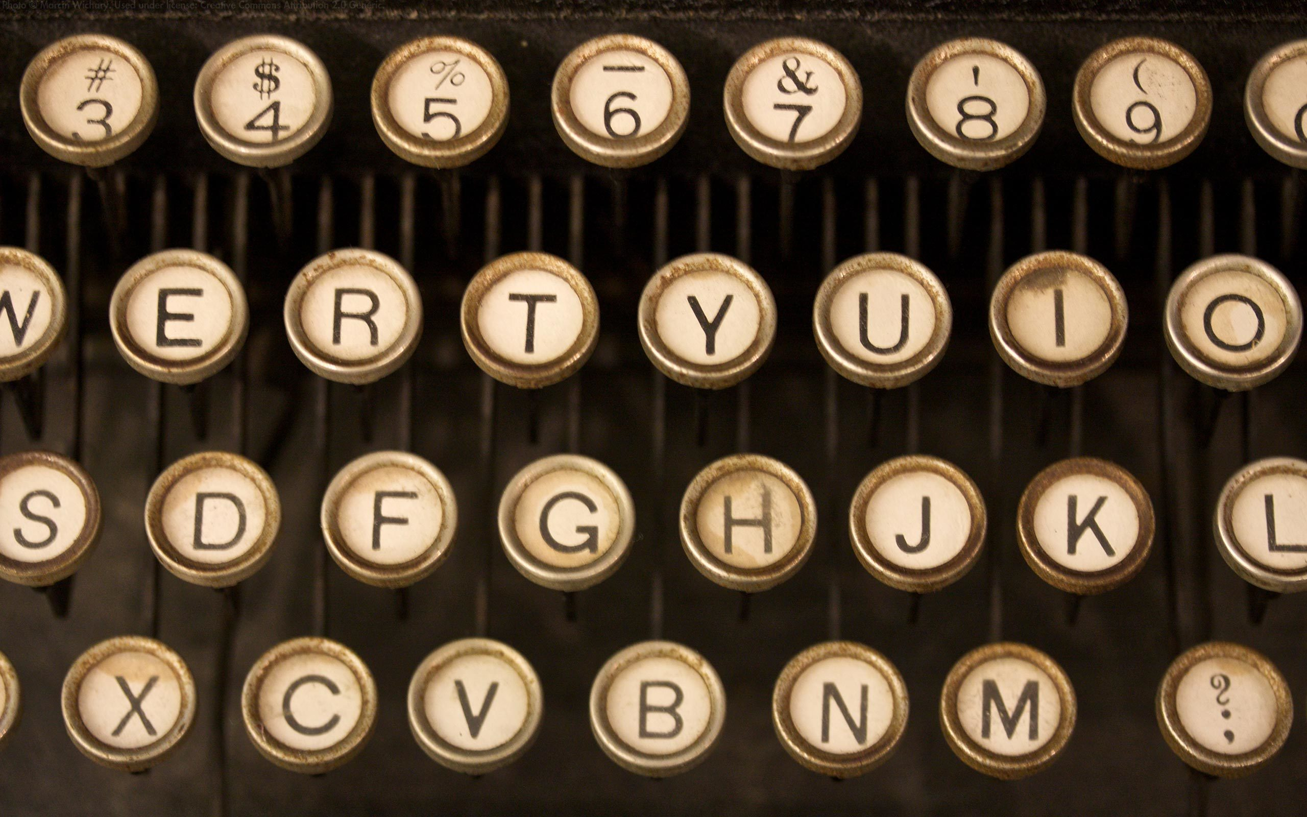 keyboards numbers alphabet letters HD Wallpaper