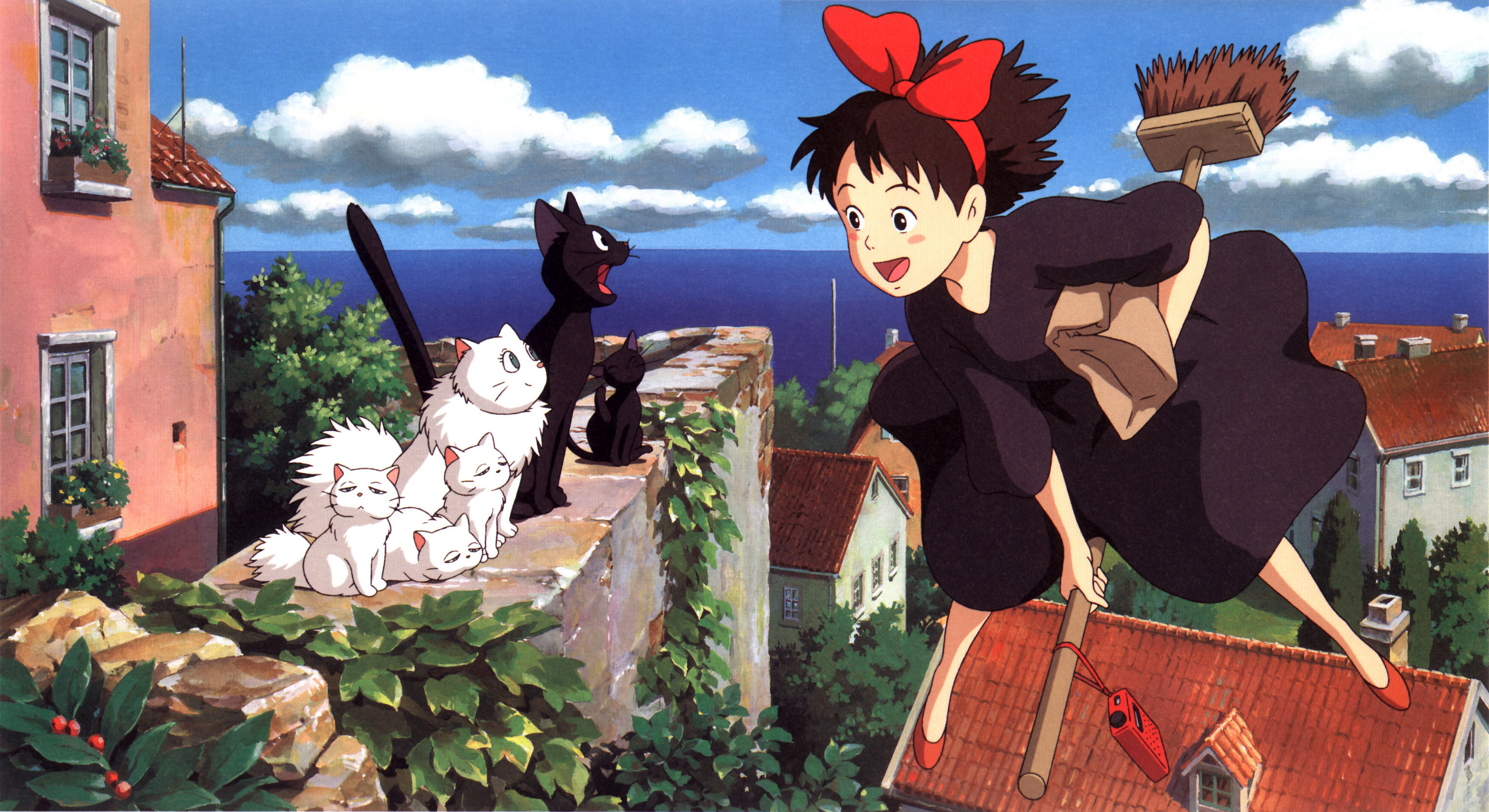 Kiki delivery service Anime HD Wallpaper