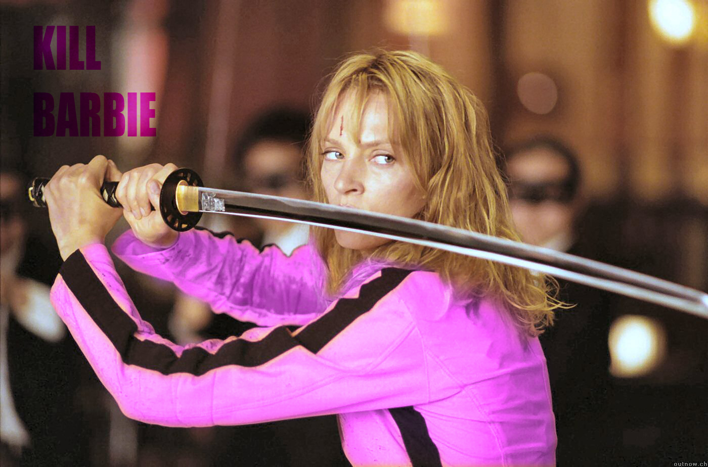 kill bill barbie HD Wallpaper