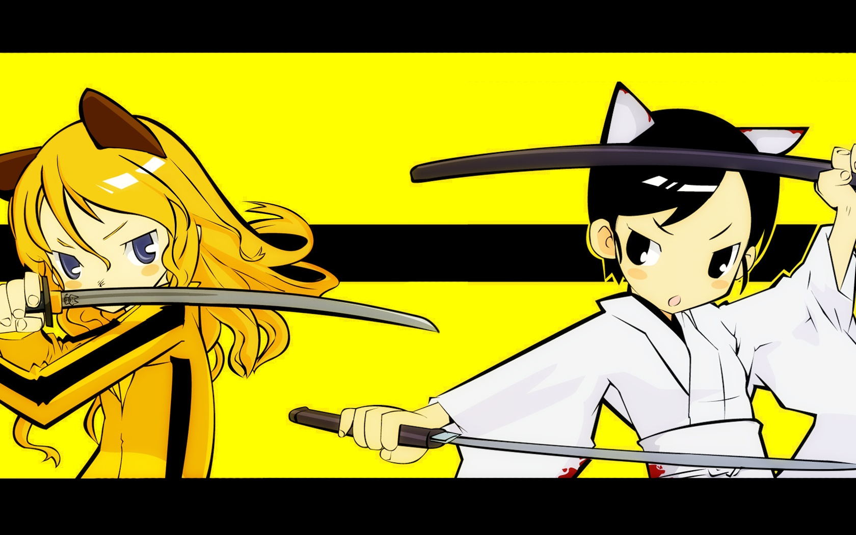 Kill Bill nekomimi alternative HD Wallpaper