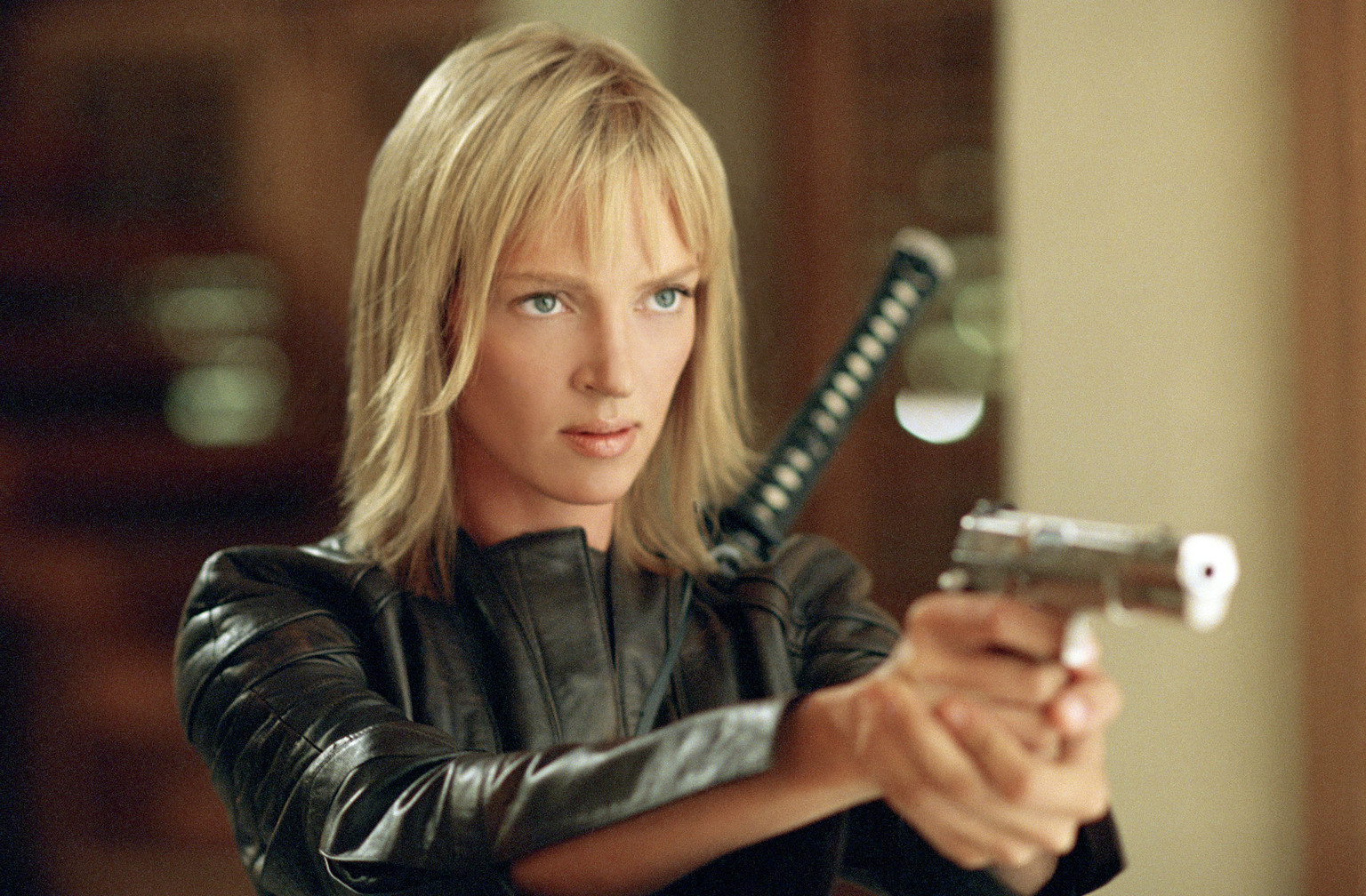 Kill Bill Uma Thurman HD Wallpaper