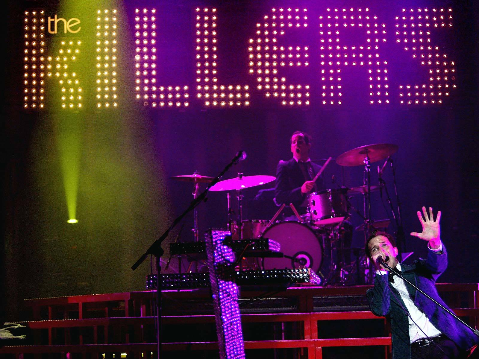 killers live Music and HD Wallpaper
