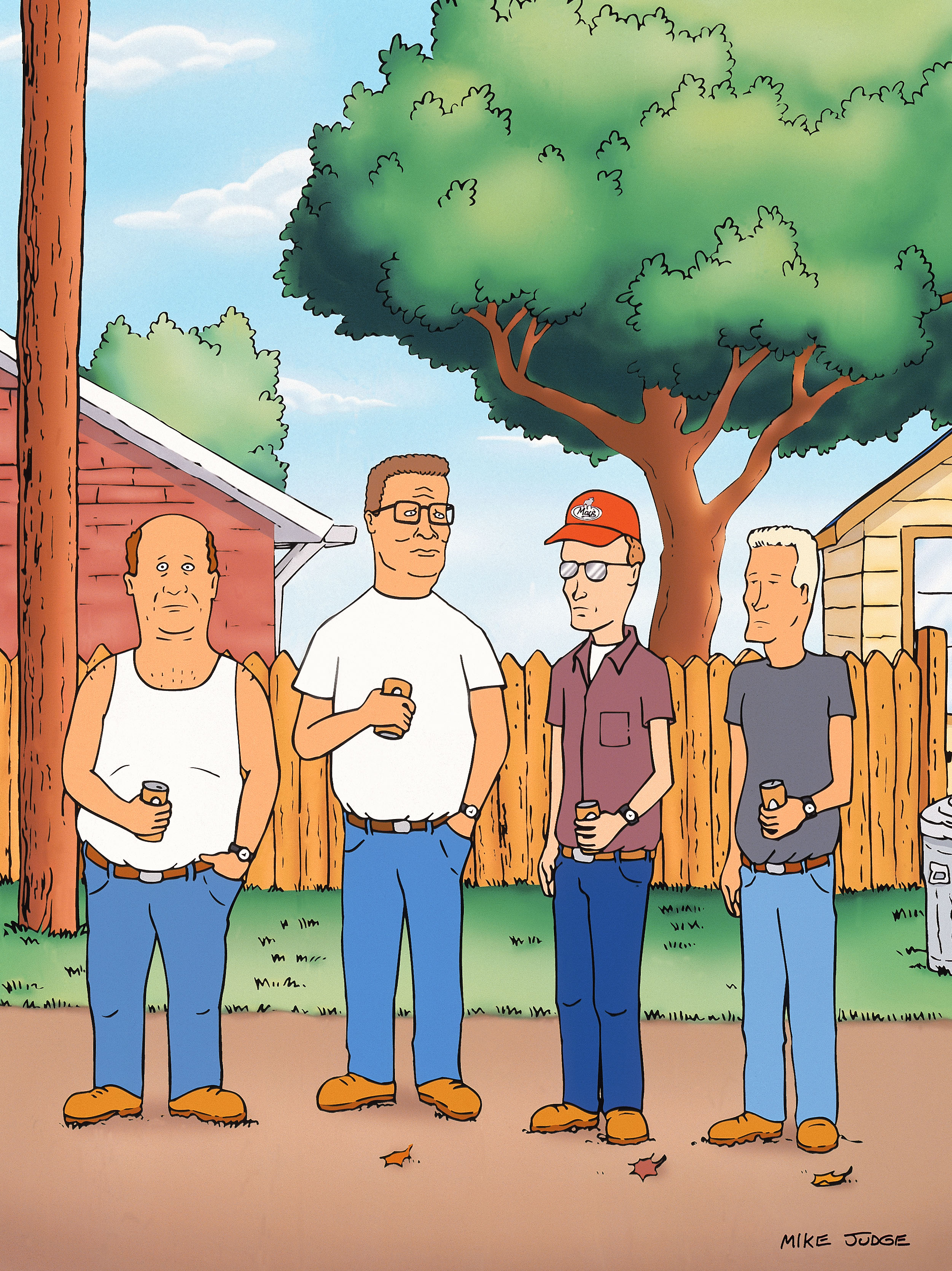 King of the Hill HD Wallpaper