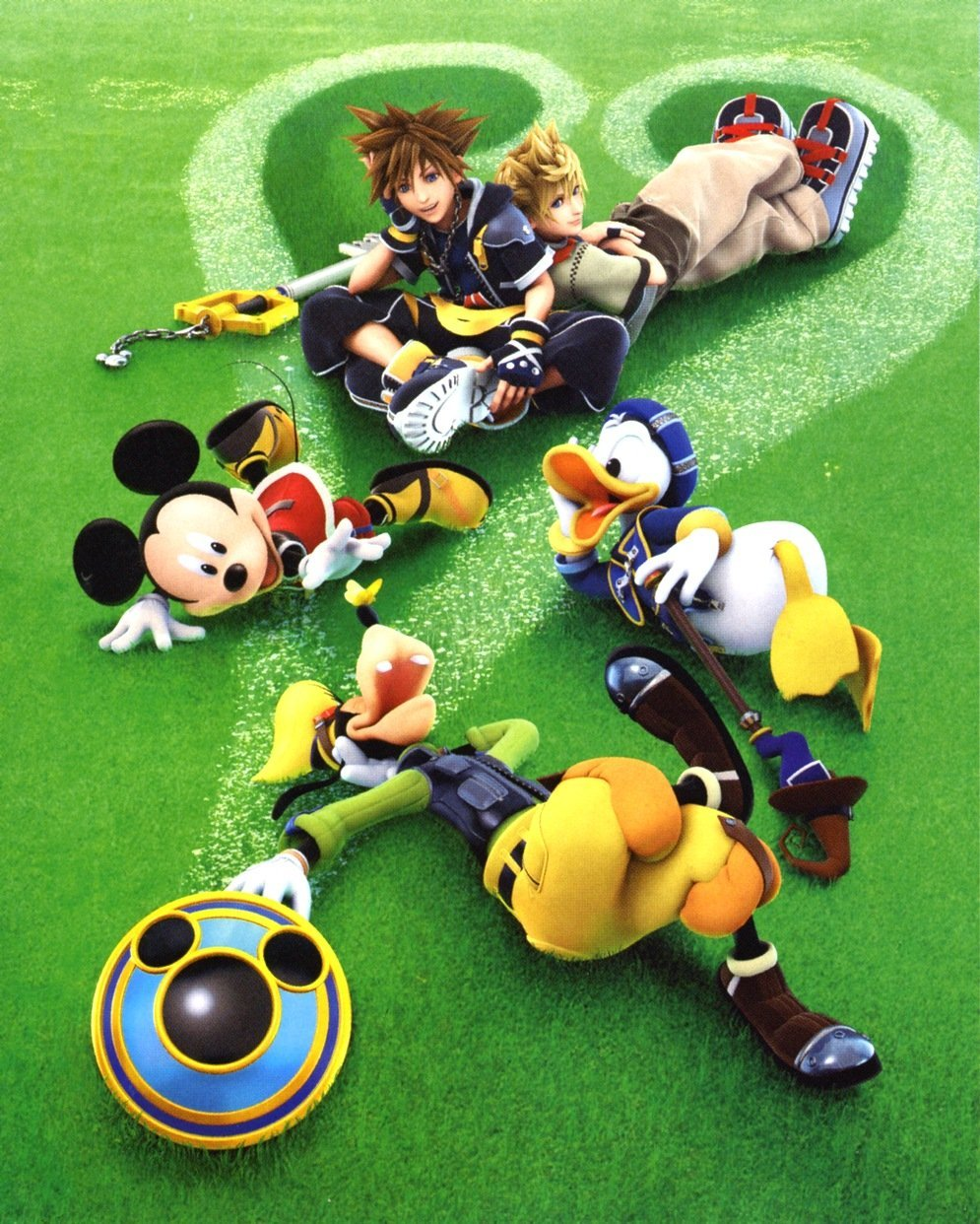 kingdom Hearts disney Company HD Wallpaper