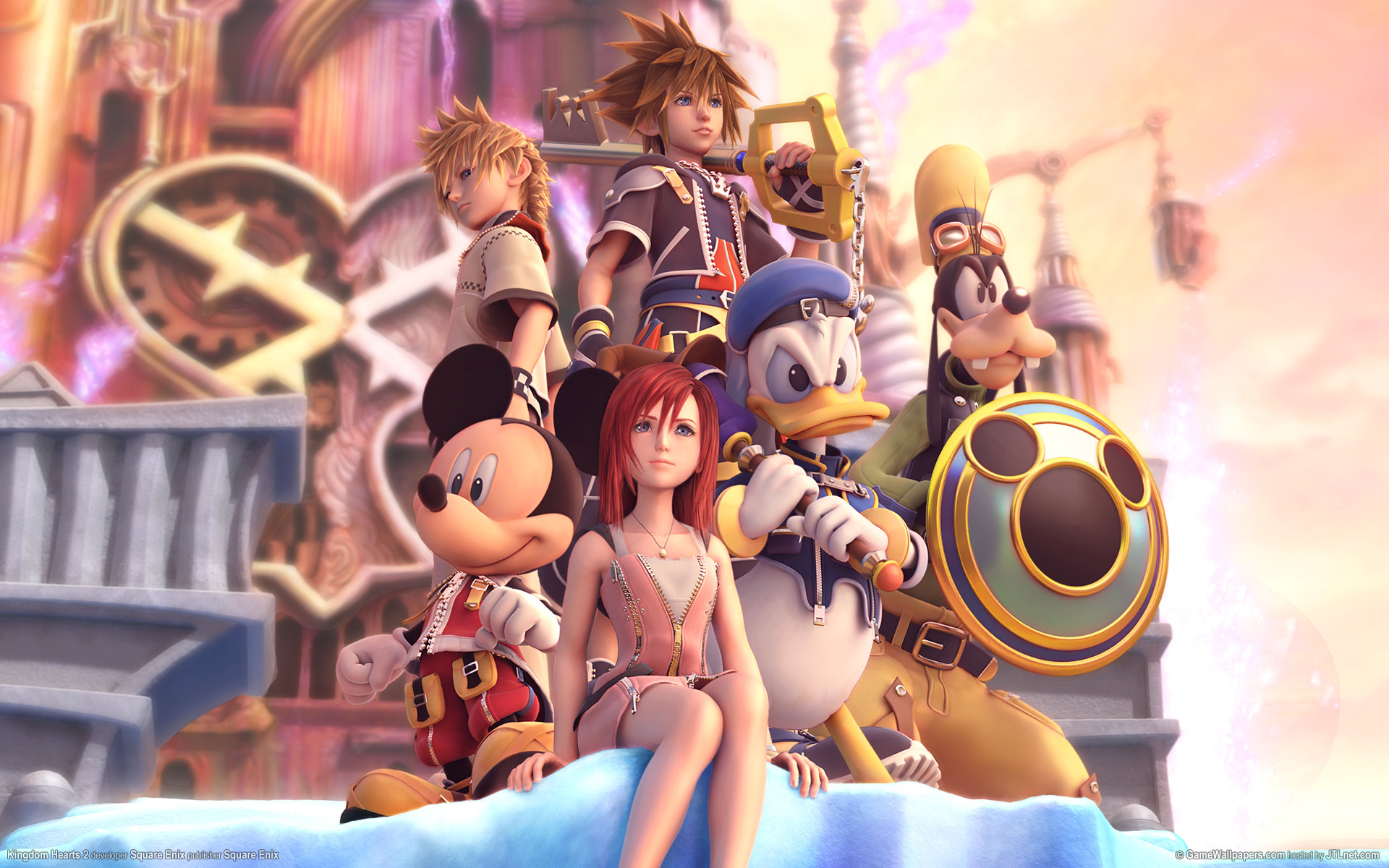 Kingdom Hearts Kairi goofy HD Wallpaper