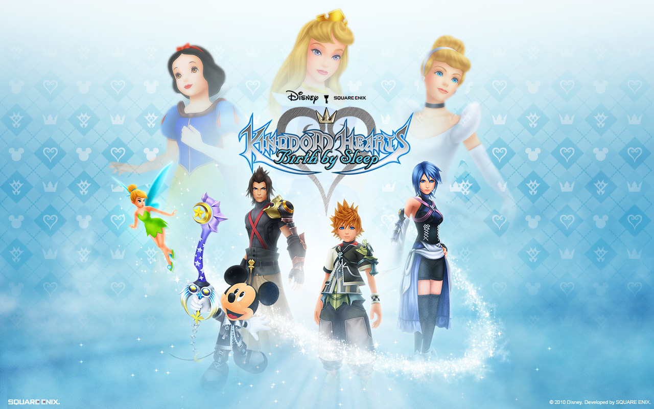 kingdom Hearts sleeping Birth HD Wallpaper
