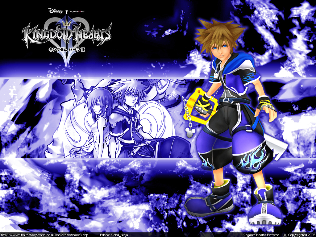 kingdom Hearts sora Anime HD Wallpaper
