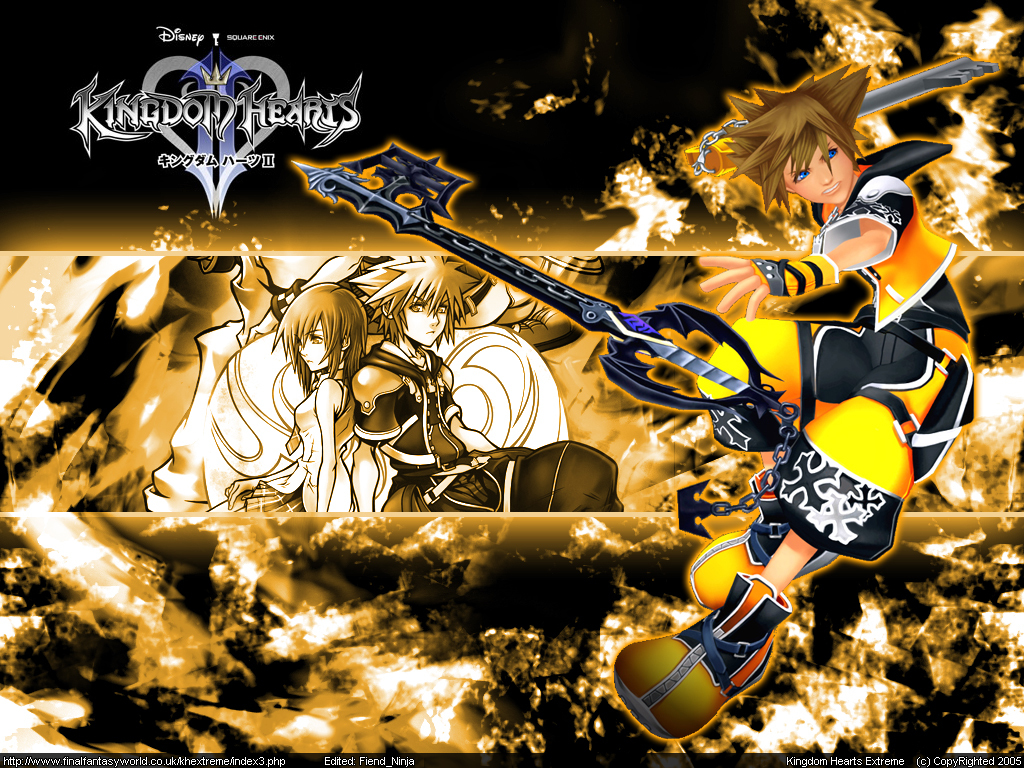 kingdom Hearts sora kh2 HD Wallpaper