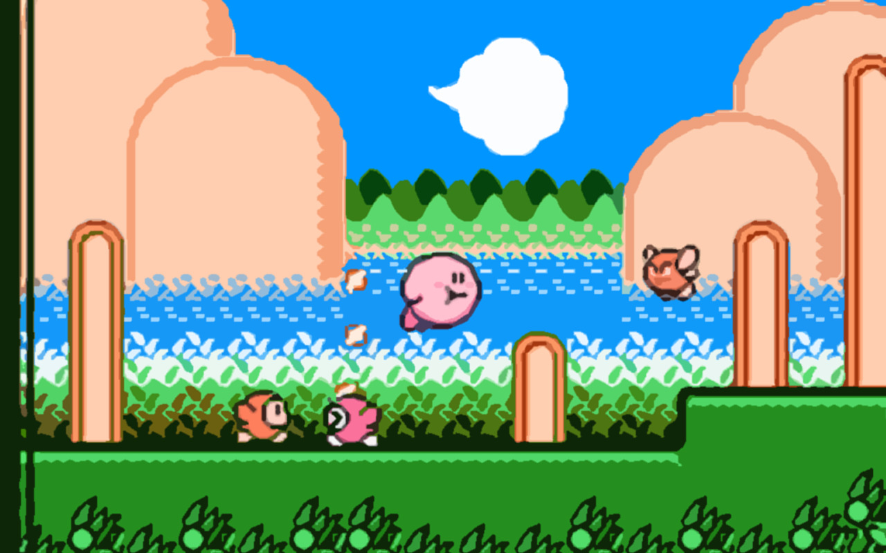 kirby video games