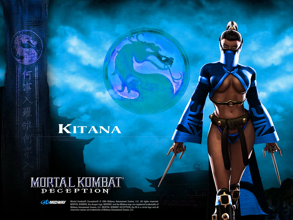 Kitana mkd sexygamegirls looking HD Wallpaper