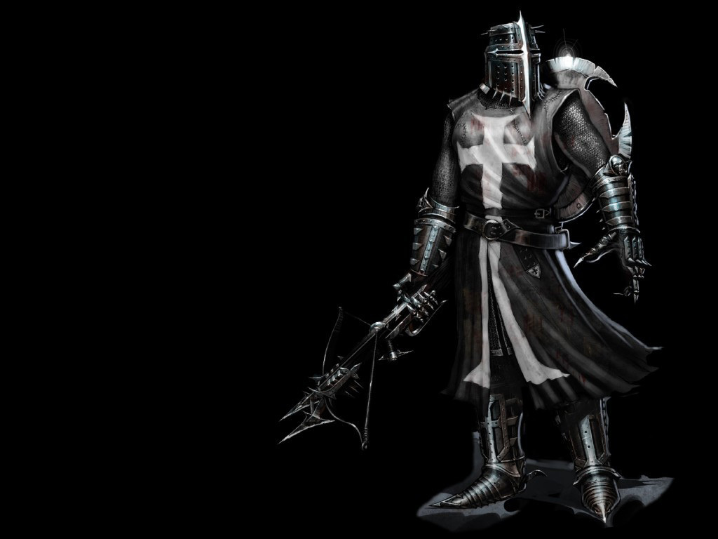 Knights crusader Warriors Templar HD Wallpaper