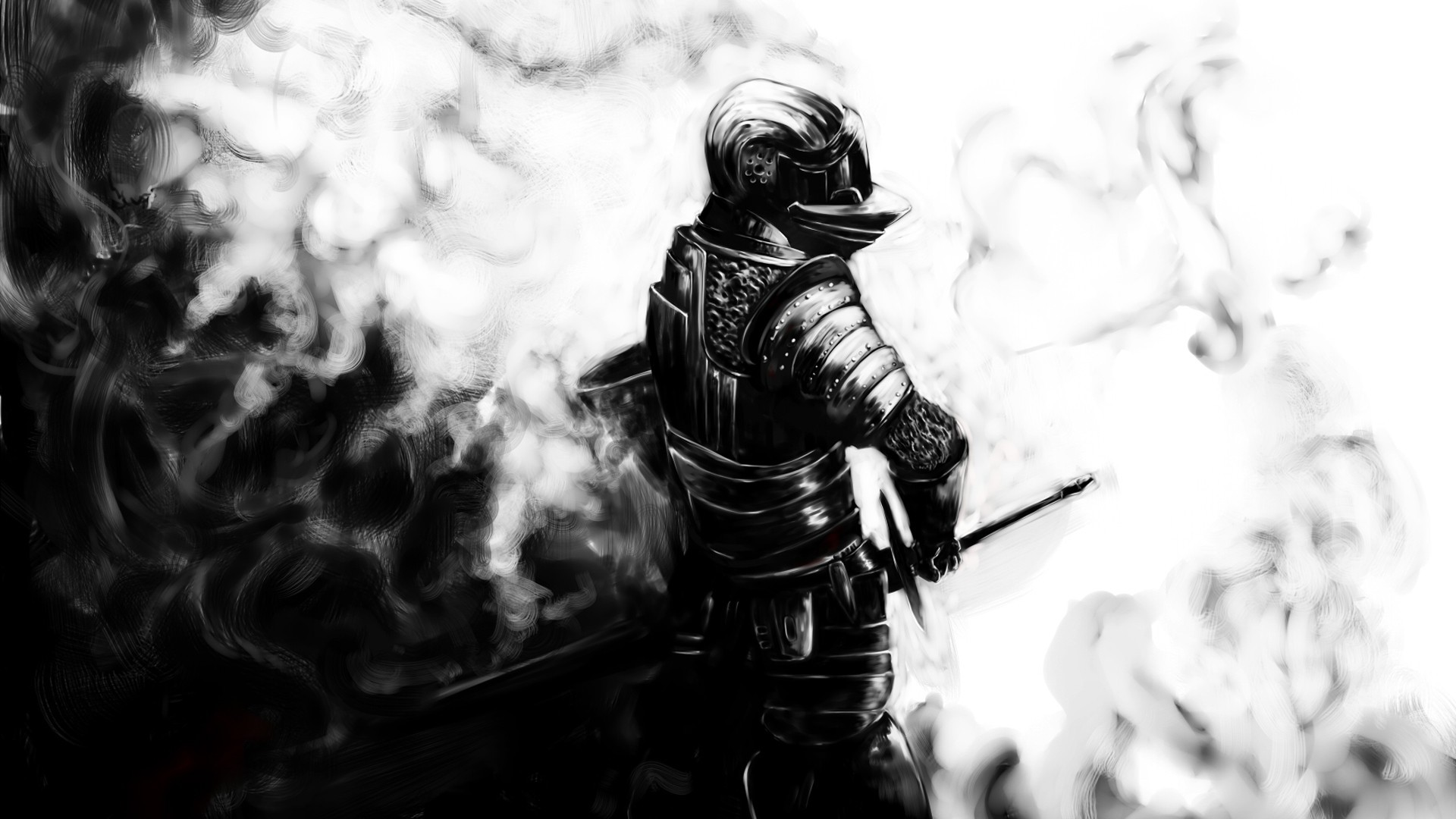 Knights Demon's Souls dark HD Wallpaper