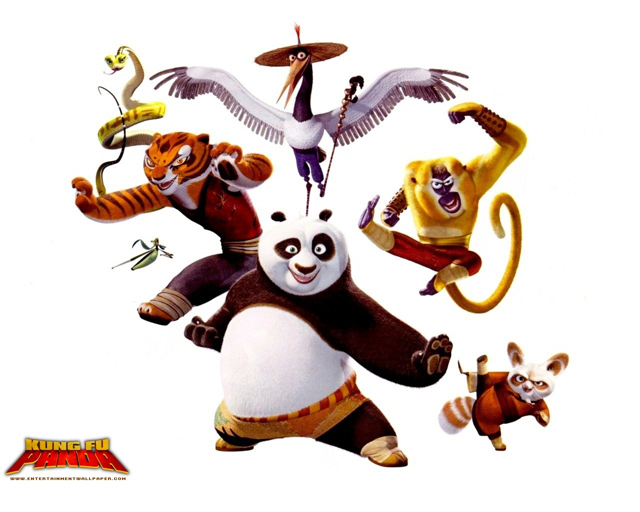kung fun panda cartoon HD Wallpaper