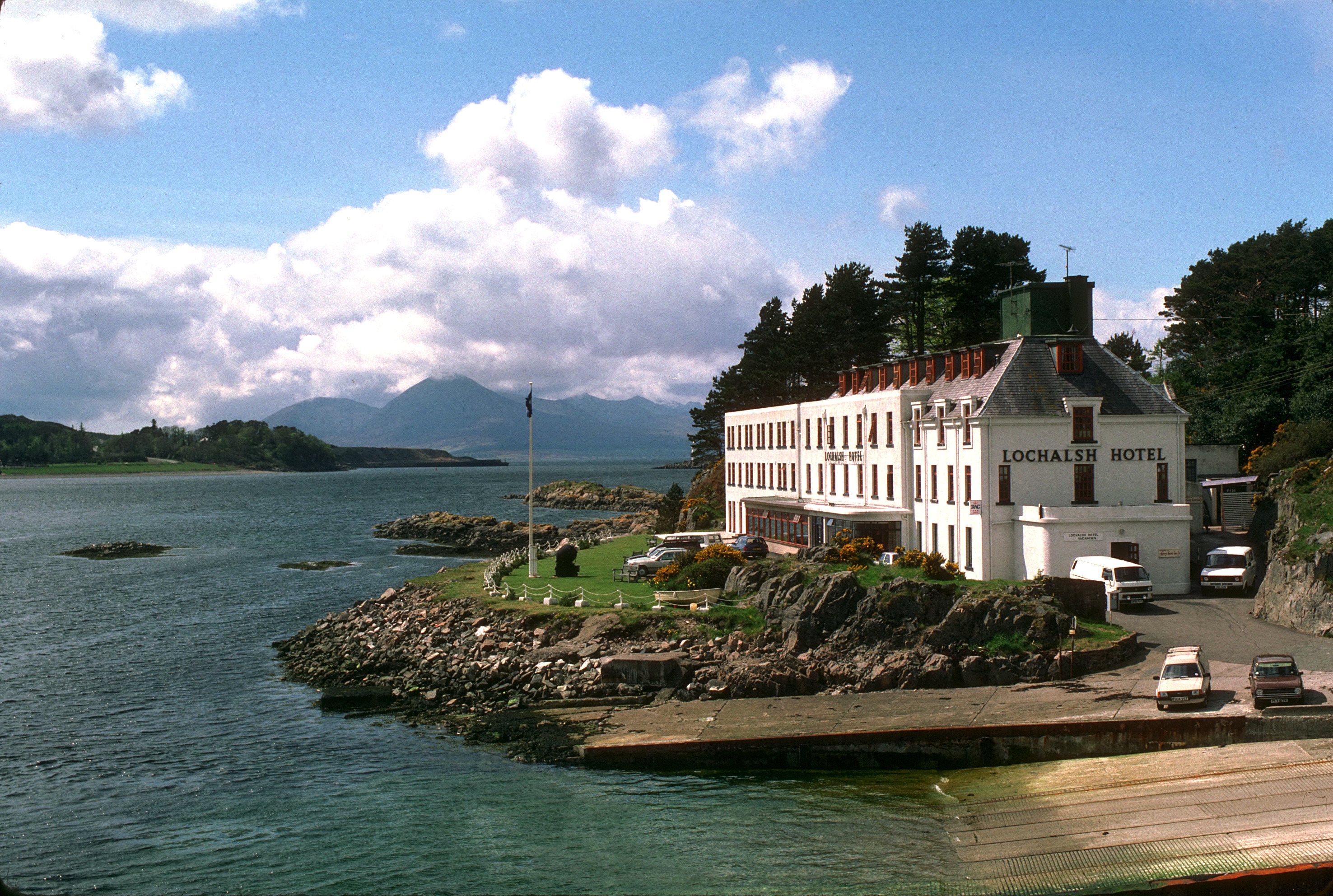 Kyle The lochalsh Hotel HD Wallpaper