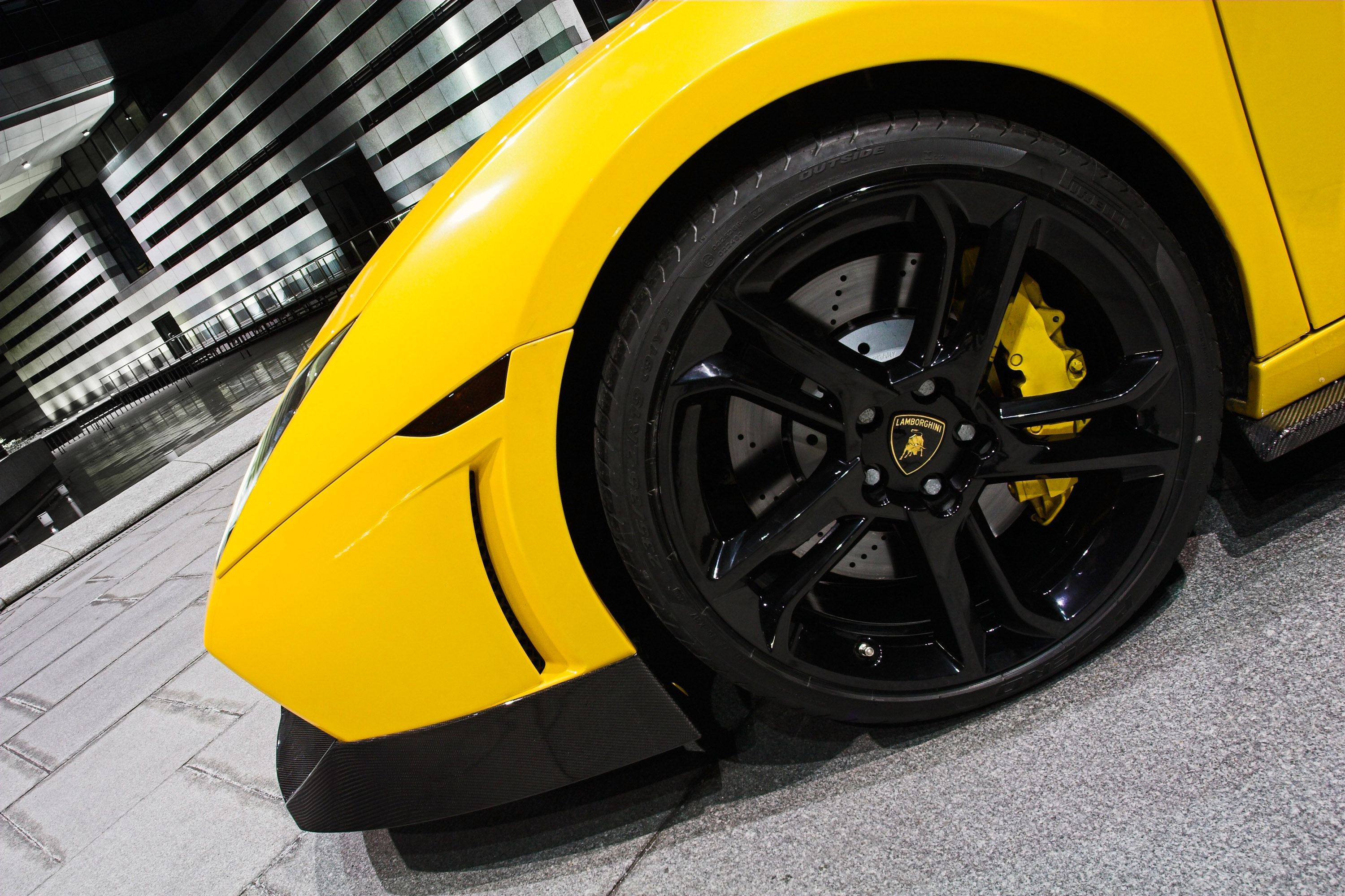 Lamborghini Rims tires cars HD Wallpaper