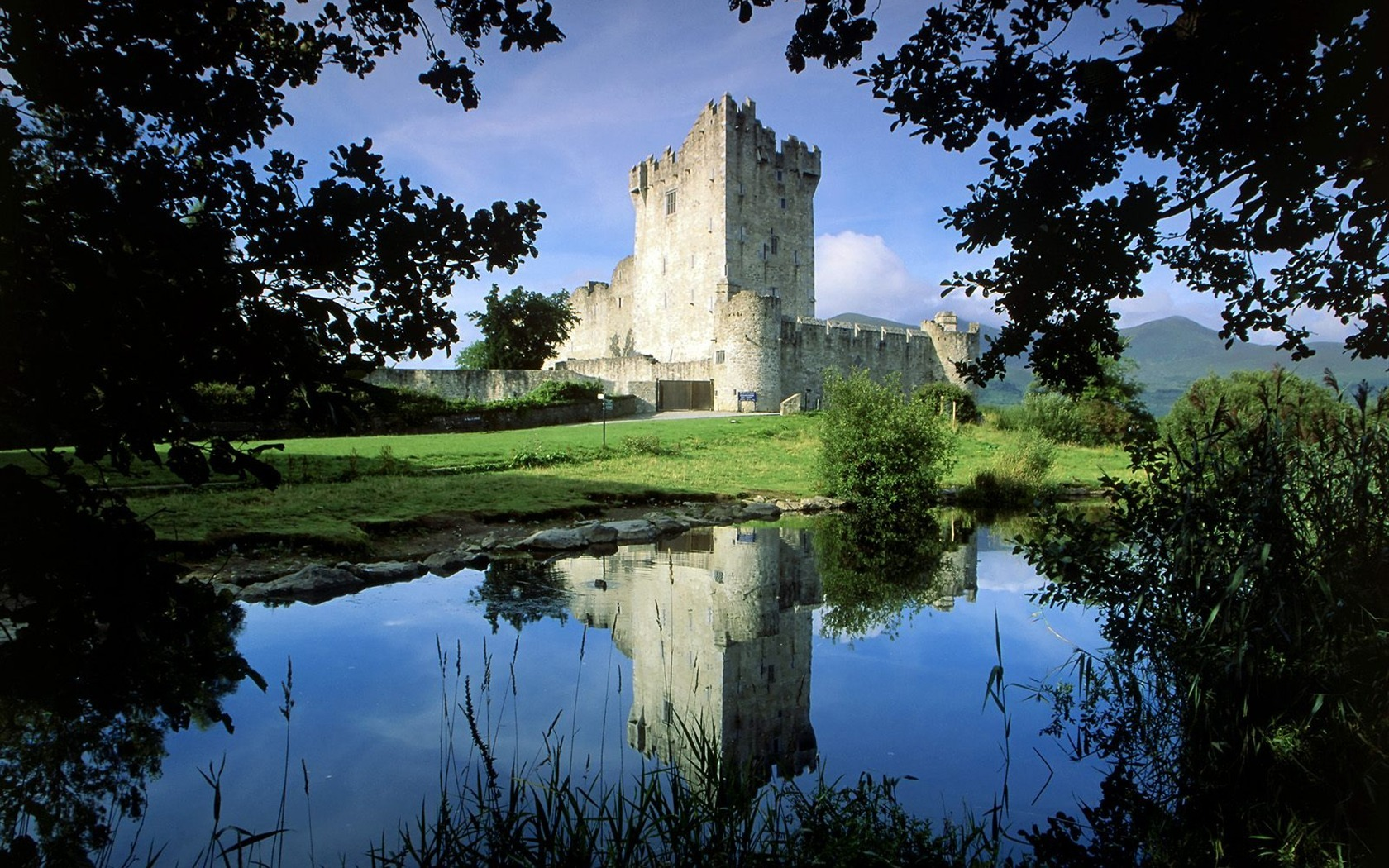 Landscapes Castles Ross Castle HD Wallpaper